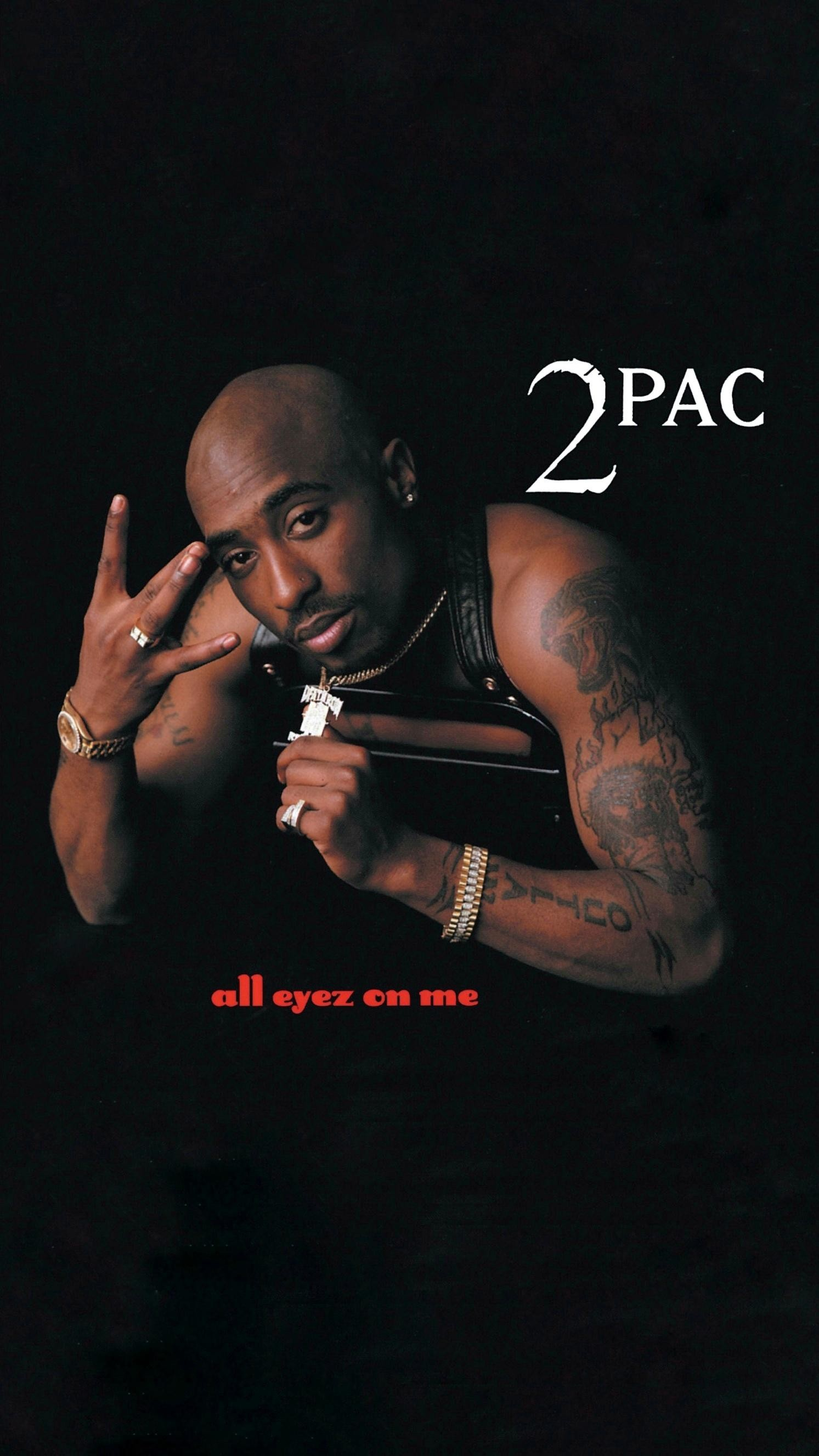 [Mobile Wallpaper] 2Pac – All Eyez On Me …