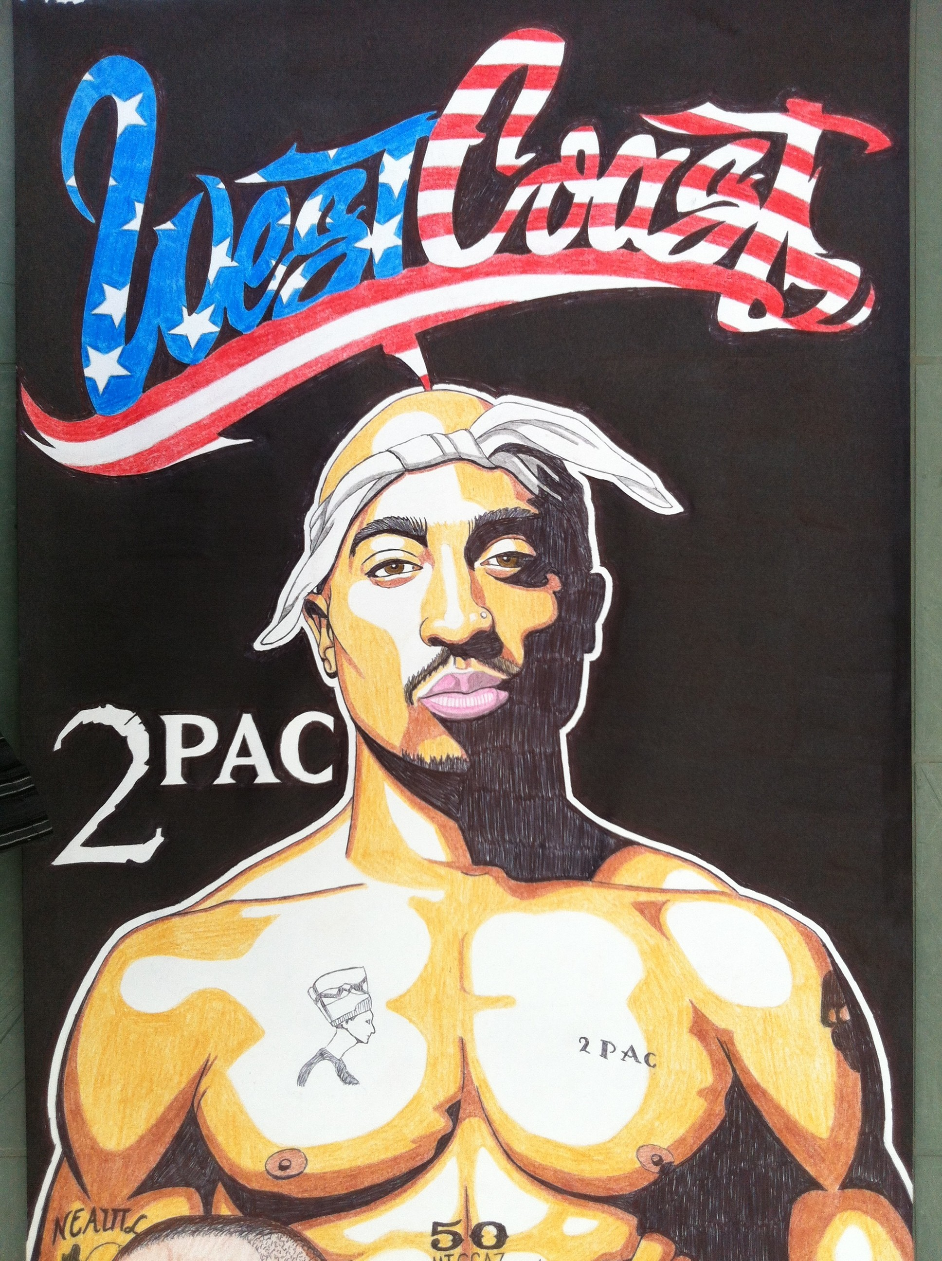 … West Coast 0 2pac dr dre snoop dogg by golhom