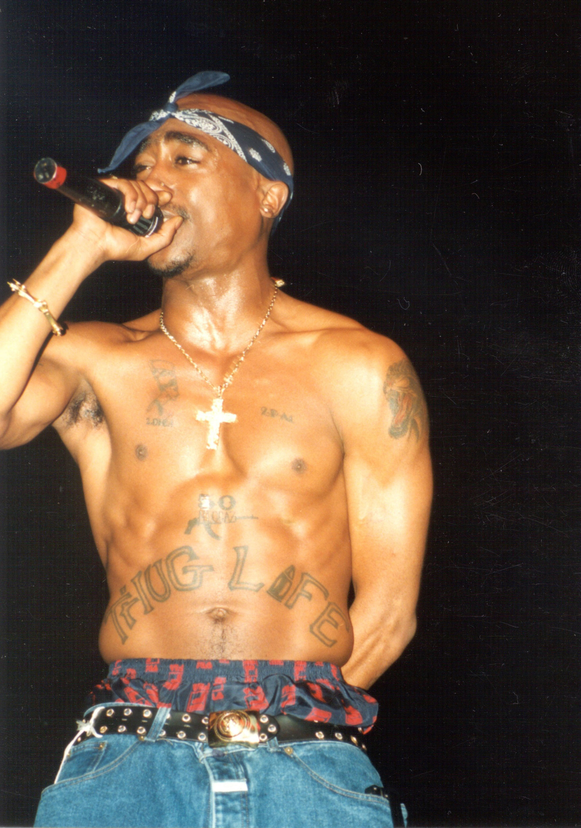 Tupac Shakur, even tho he is gone.. still one of the sexist men