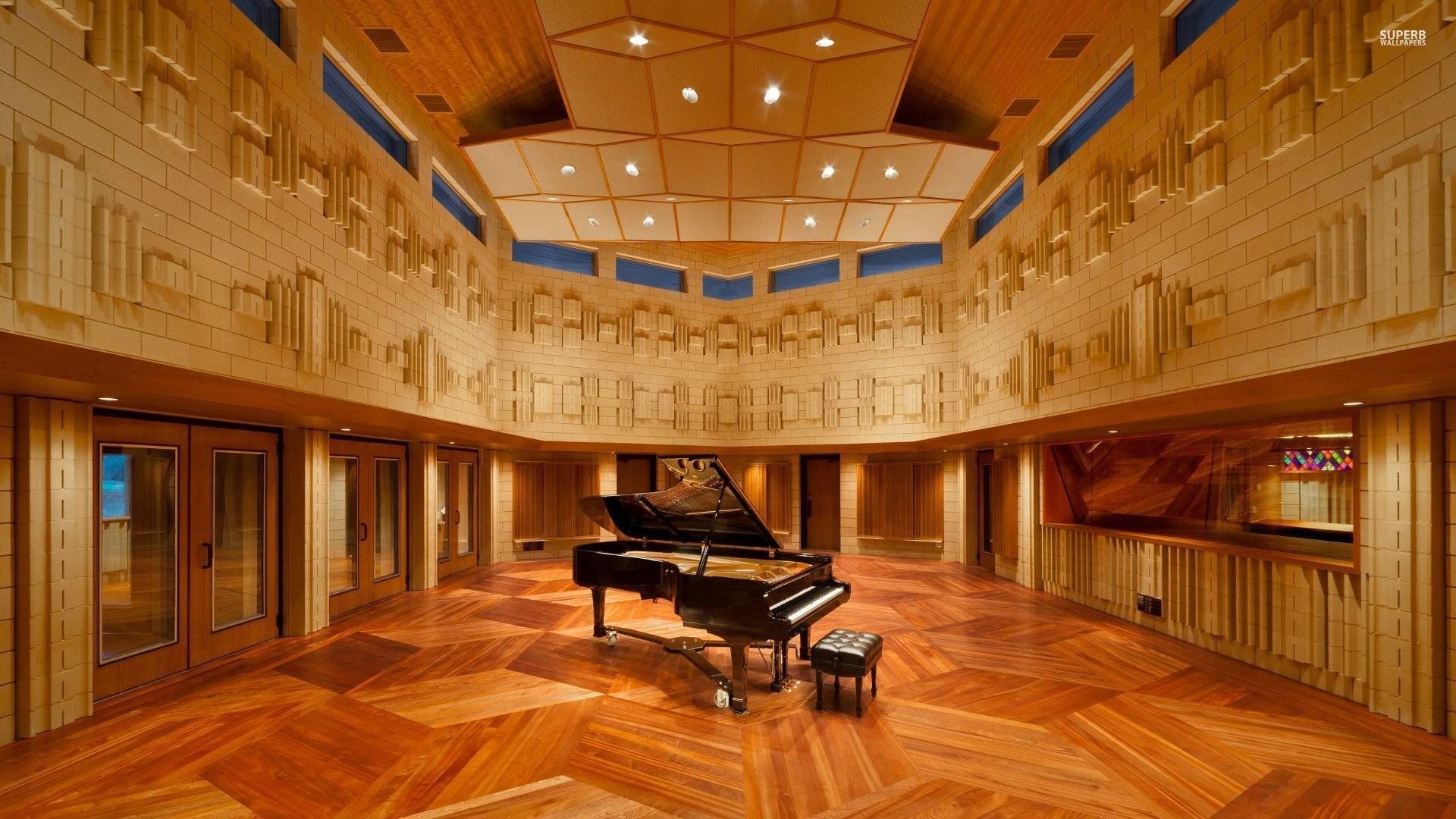 Piano In The Manifold Recording Studio