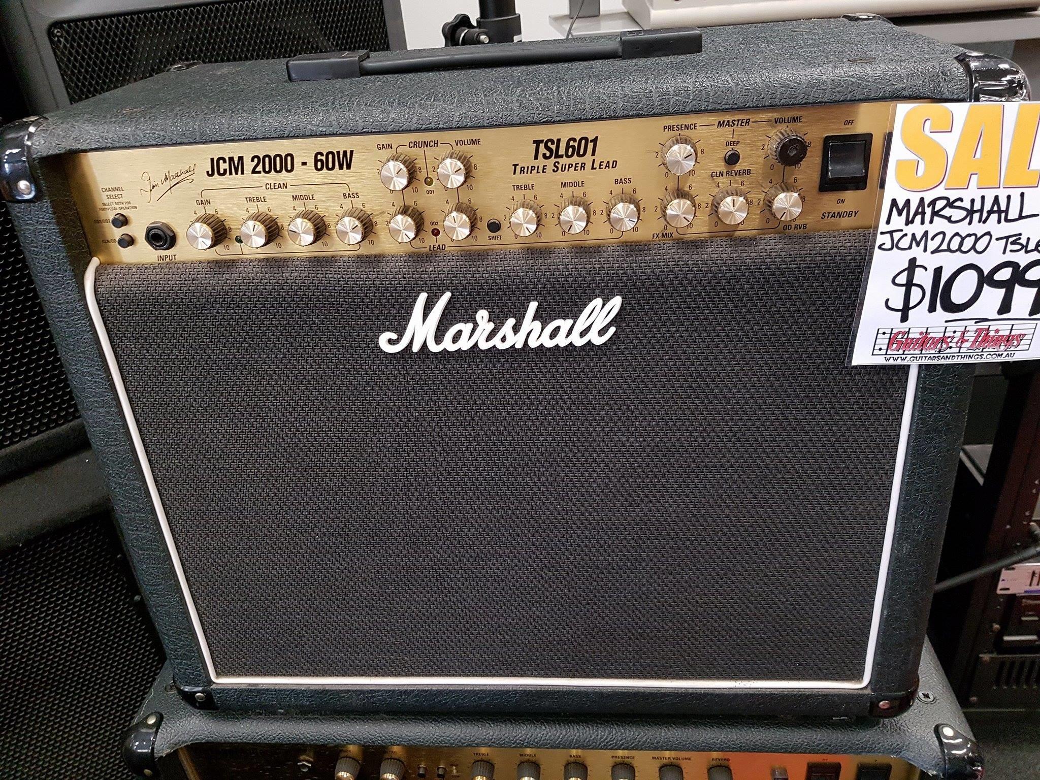 Marshall JCM 2000 60w Combo TSL601 Triple Super Lead – USED