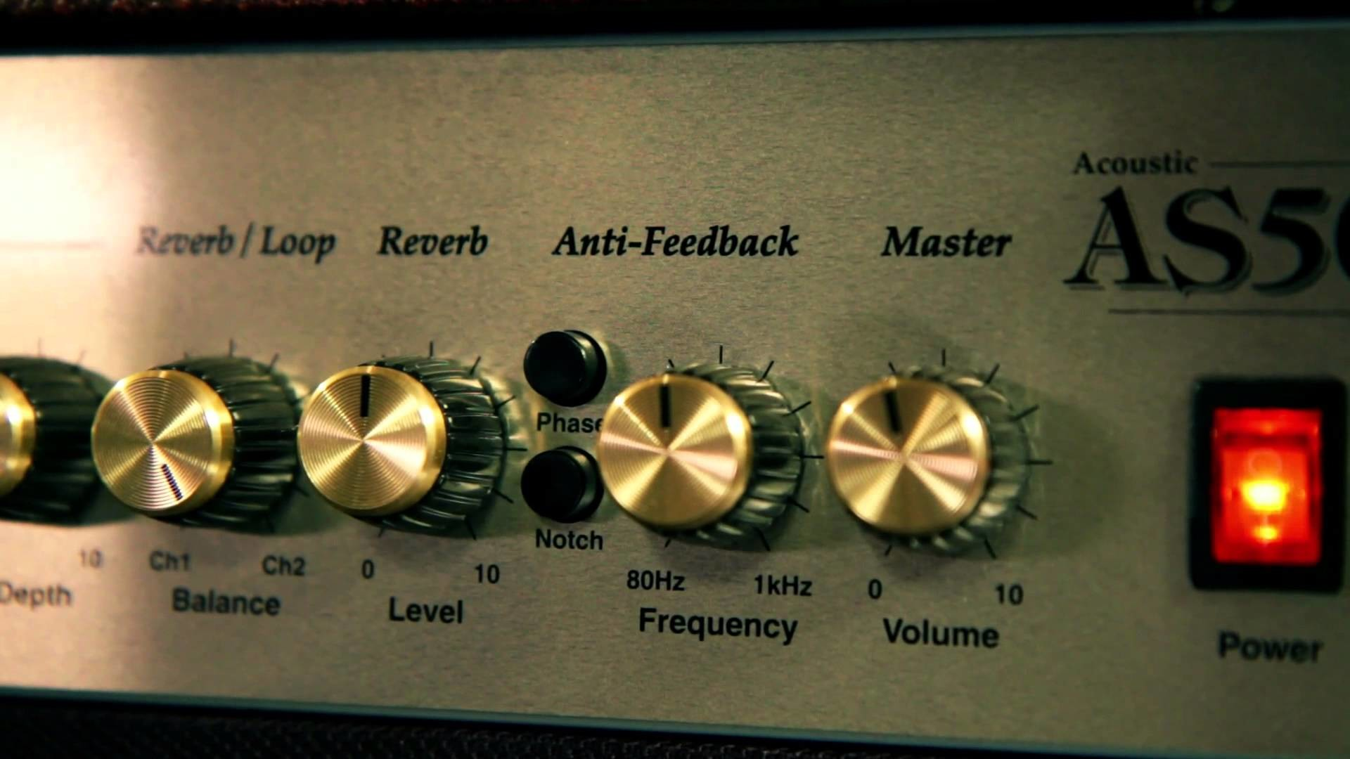 Marshall AS50D Acoustic Guitar Combo Amp Demo