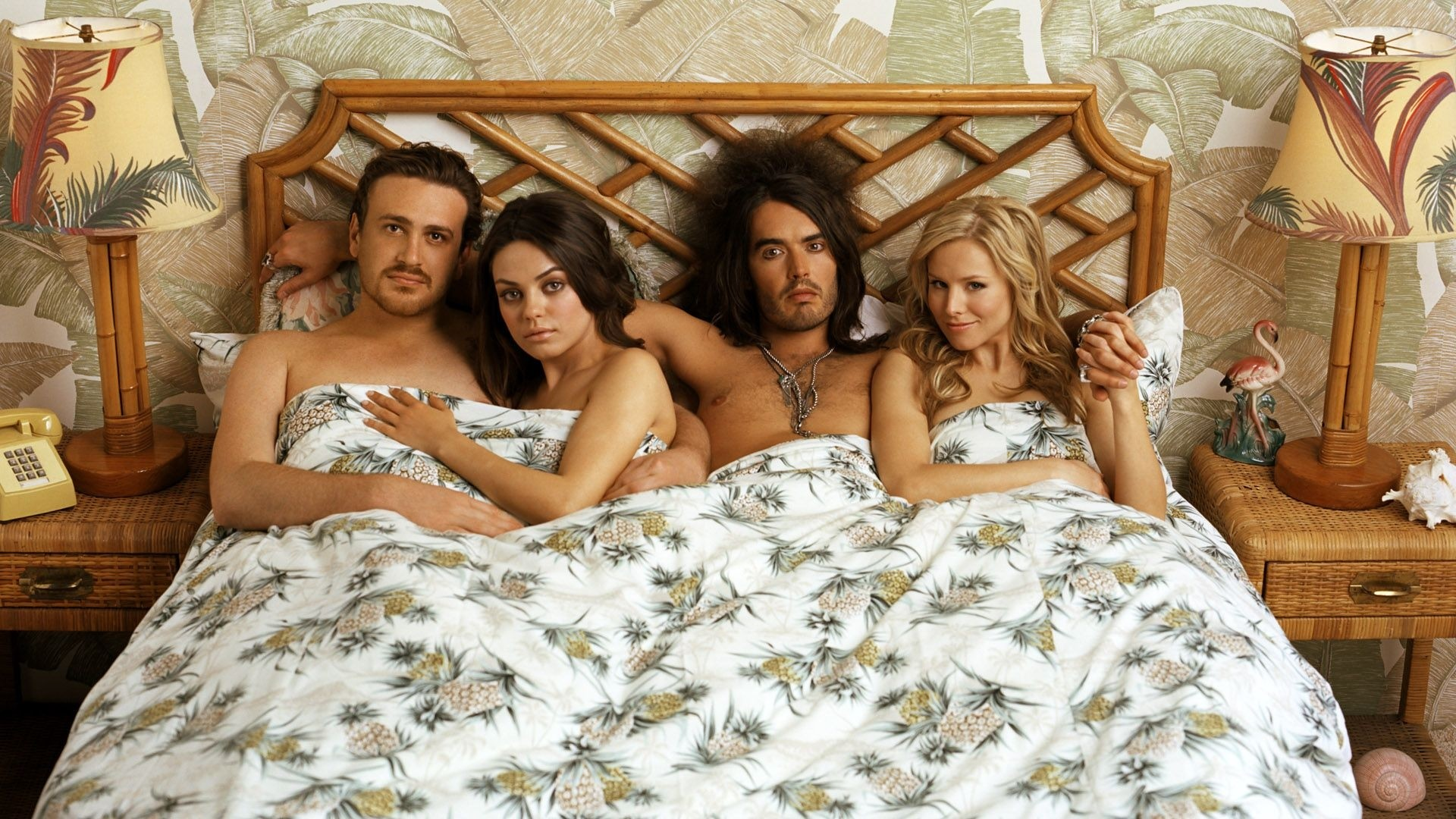 … forgetting sarah marshall, actors, bed