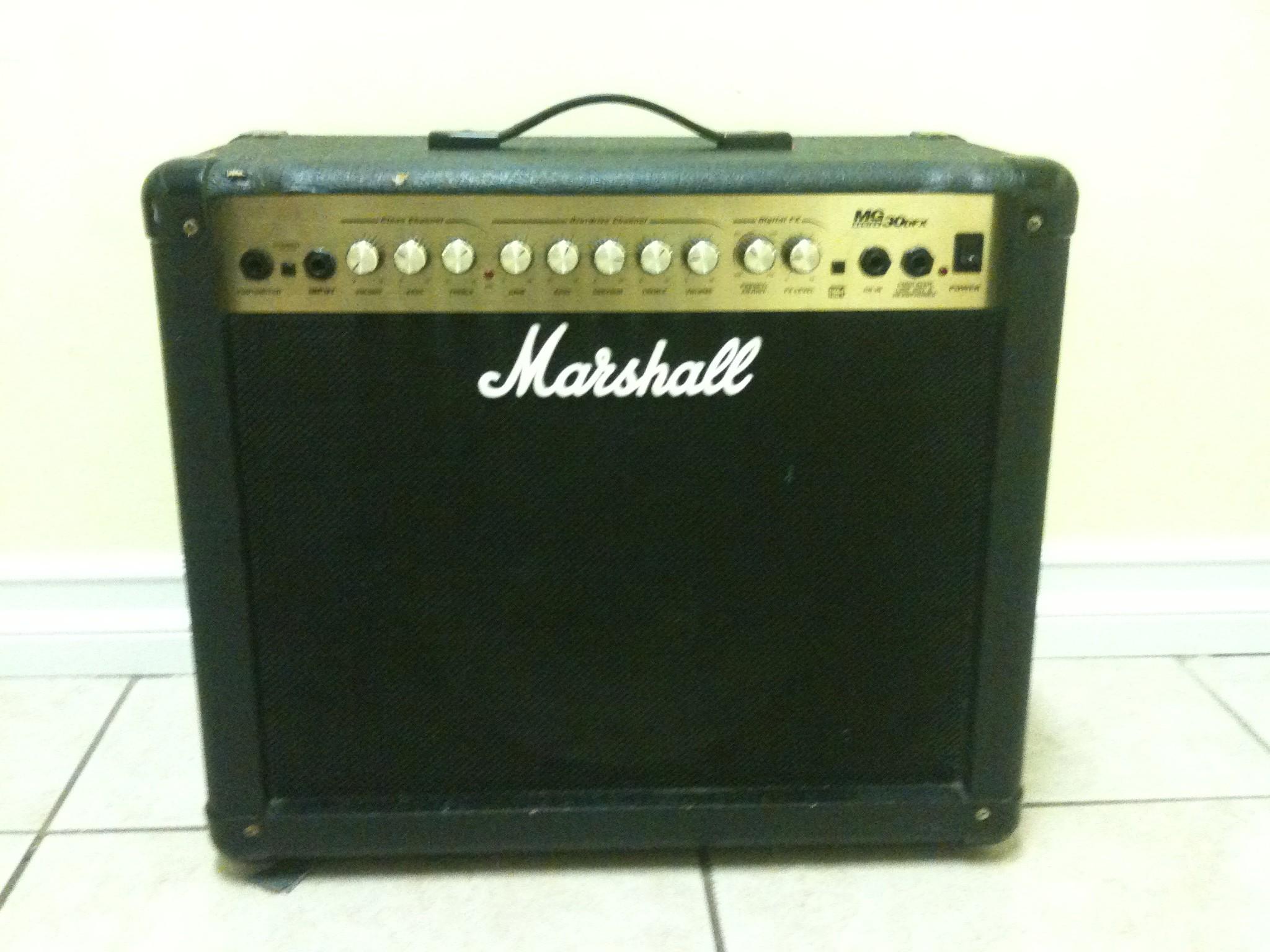 Marshall amp 80 watts
