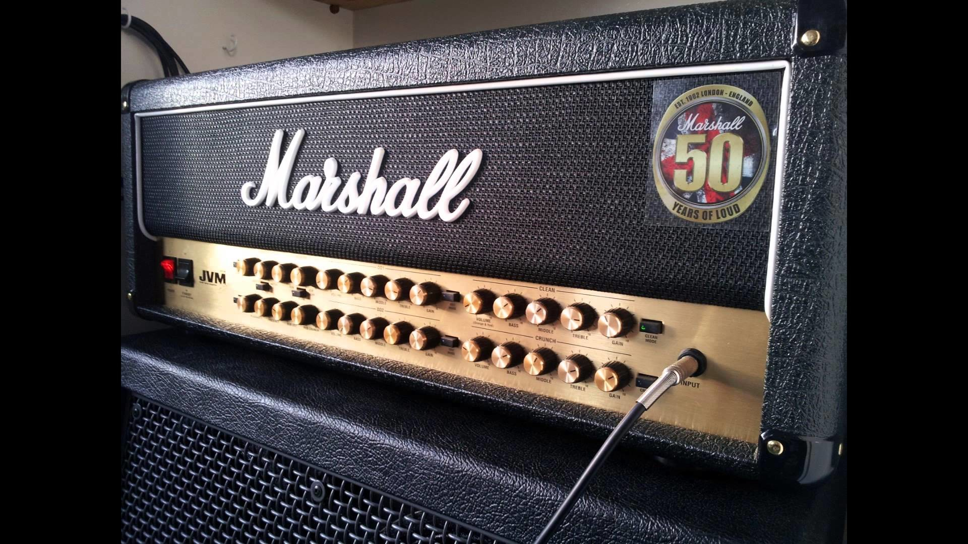 Marshall JVM 410H Metal Demo