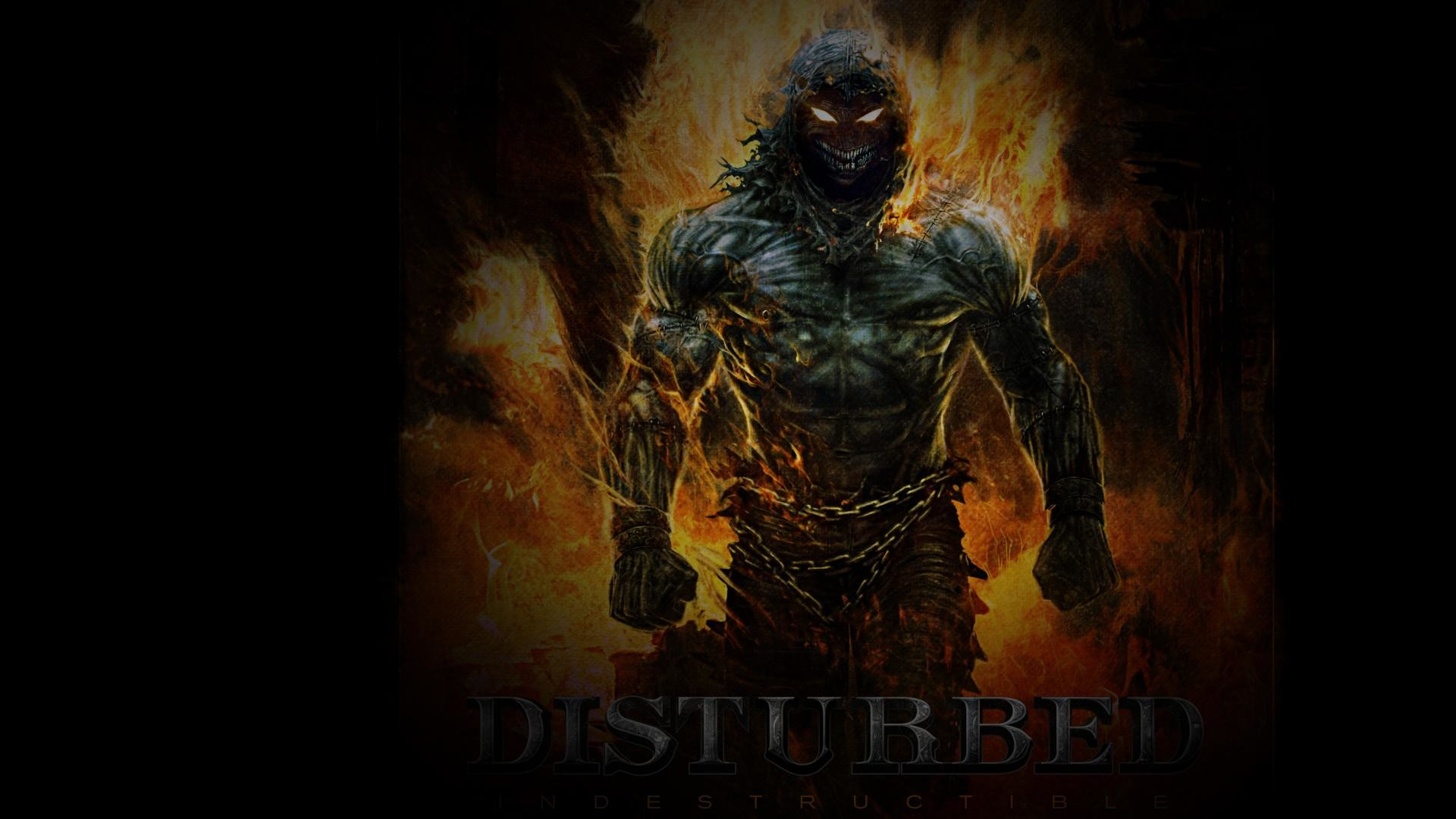Disturbed Indestructible Heavy Metal Music Bands Hd Wallpaper 1920x1080px