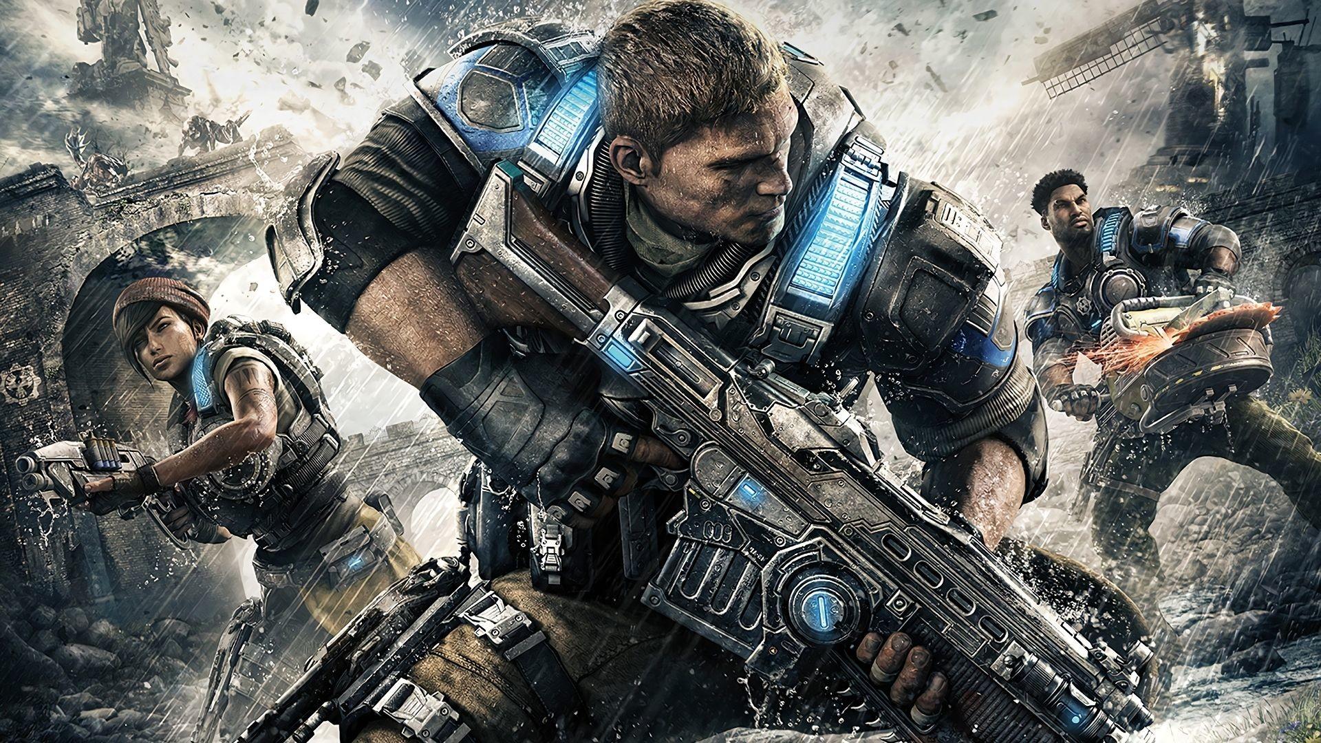Gears of War 4 Widescreen Gears of War 4 Download