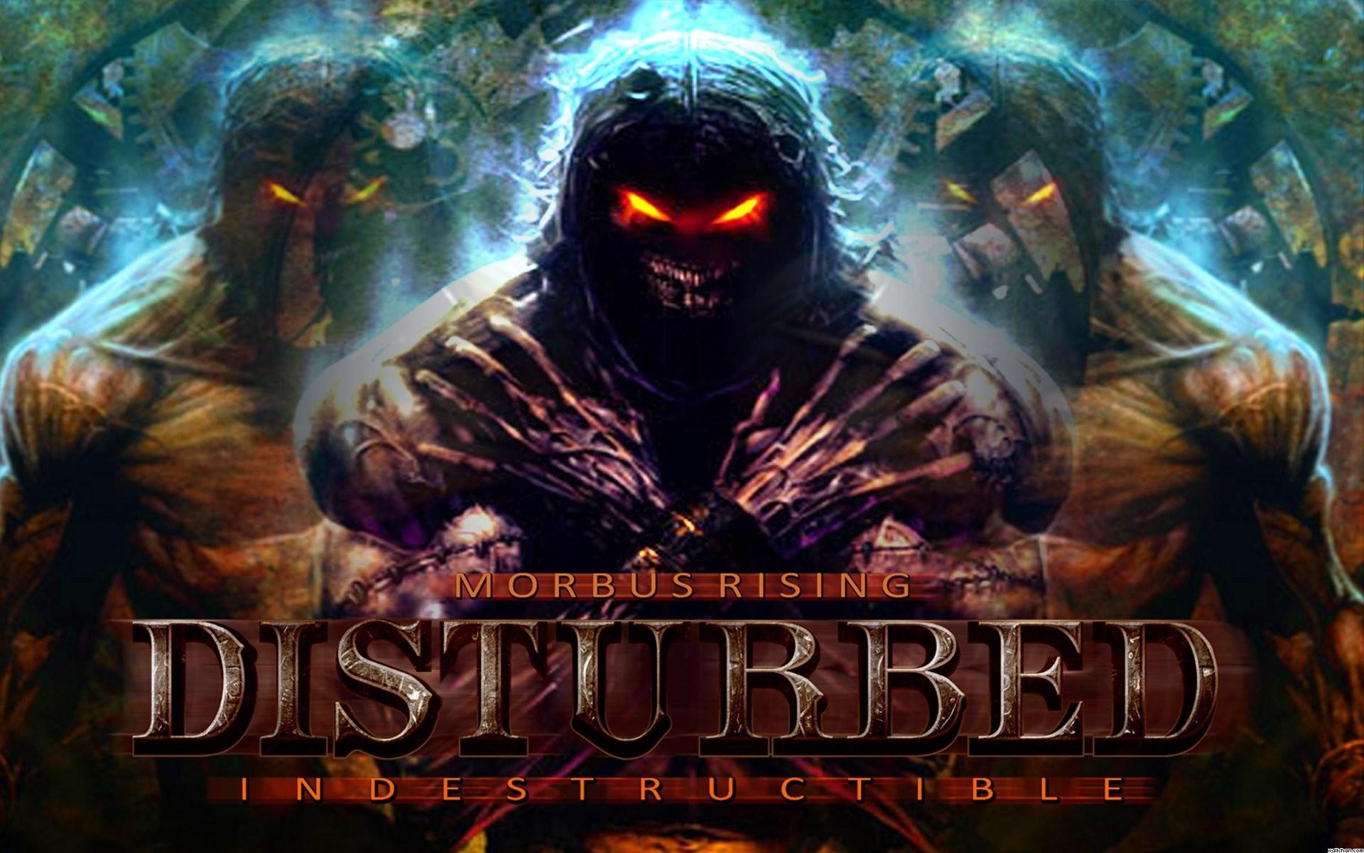 DISTURBED heavy metal alternative metal hard rock nu-metal dark demon  reaper wallpaper | | 492261 | WallpaperUP