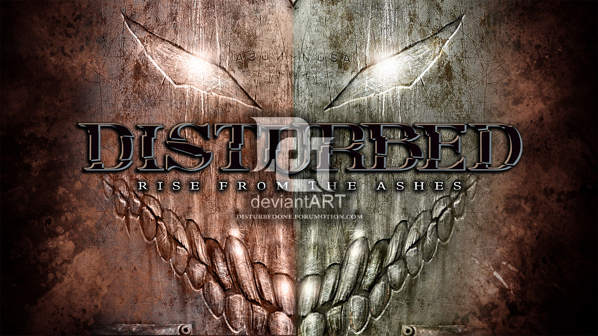 … morbustelevision2 Disturbed – Rise From The Ashes by morbustelevision2