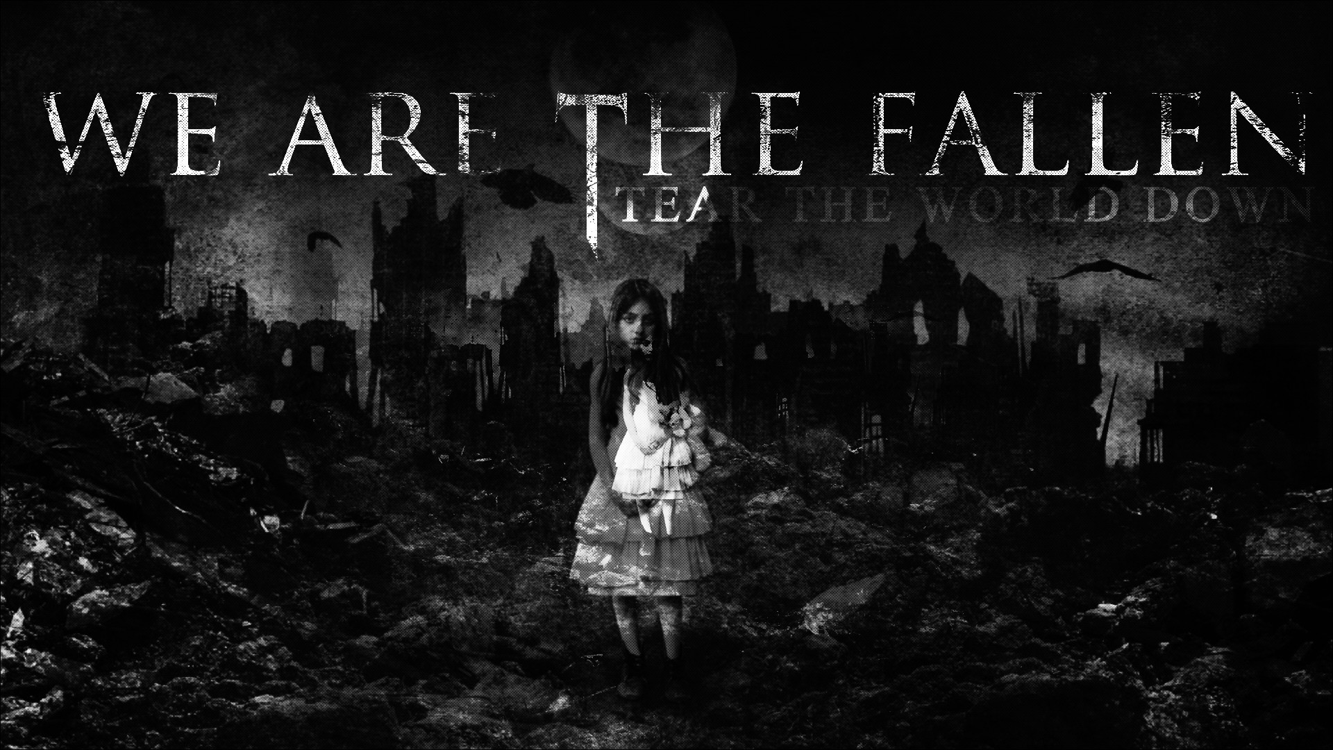 … WATF : Tear The World Down Full-HD Wallpaper 2 by disturbedkorea