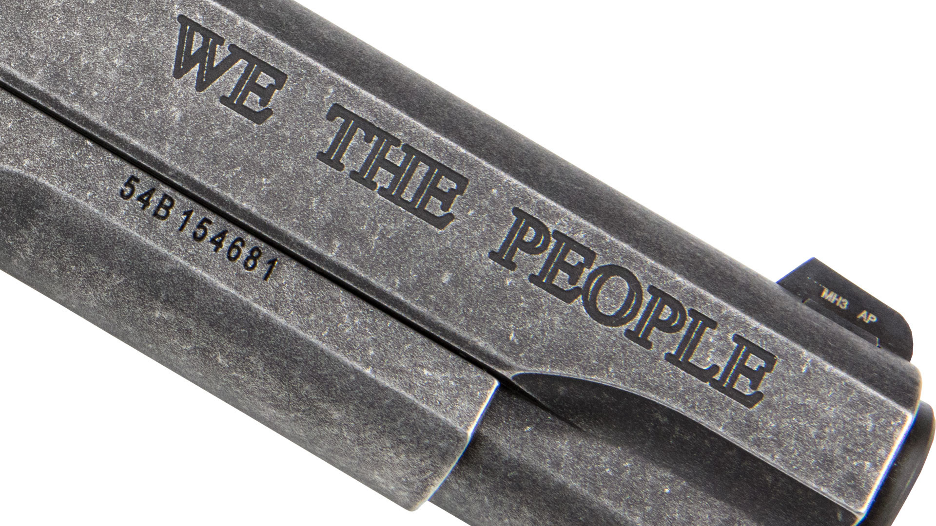 We The People Engraving