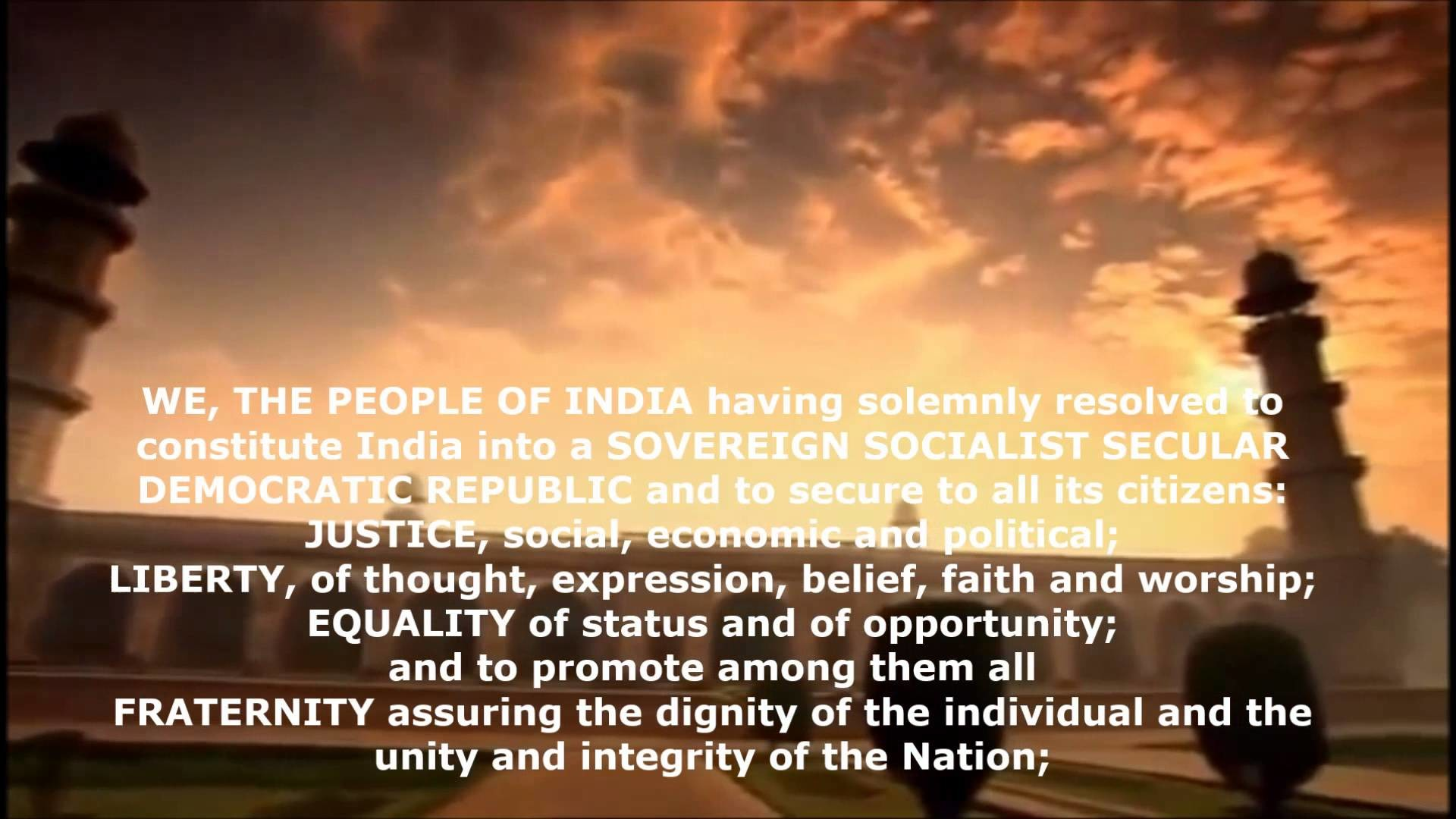 Preamble Of India – Essence of Republic of India
