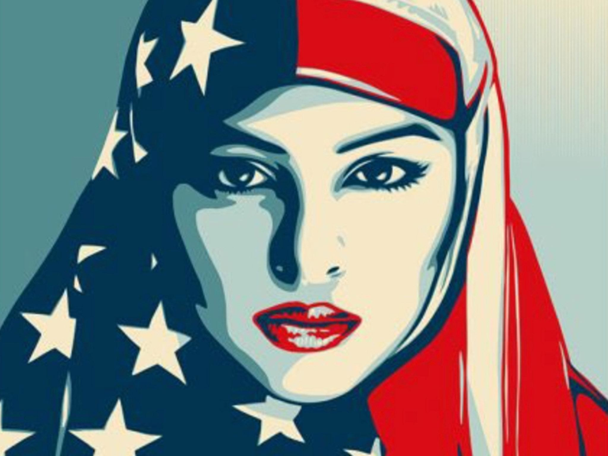 Shepard Fairey's inauguration posters may define political art in Trump era  | The Independent