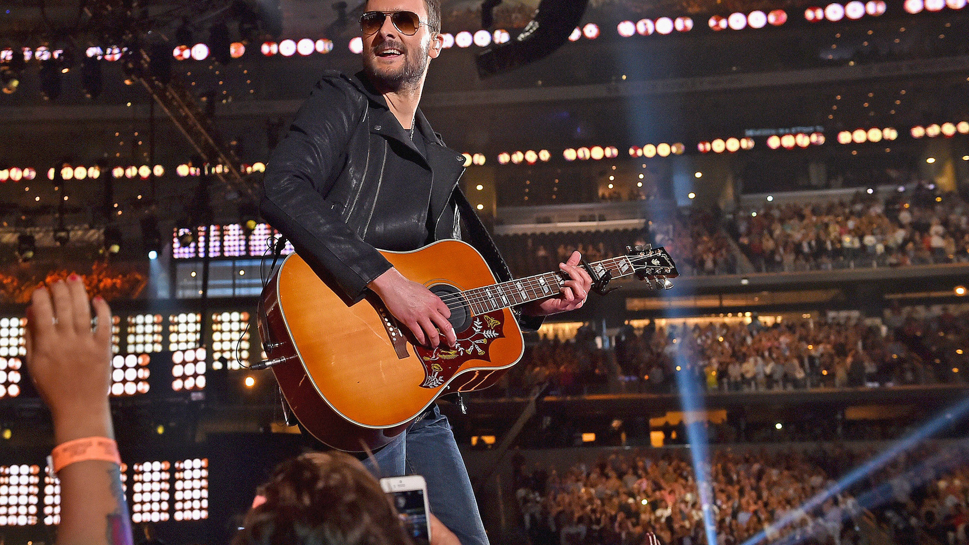Eric Church Country Music Guitar Concert, Music, Country, Country Pop,  Guitar,
