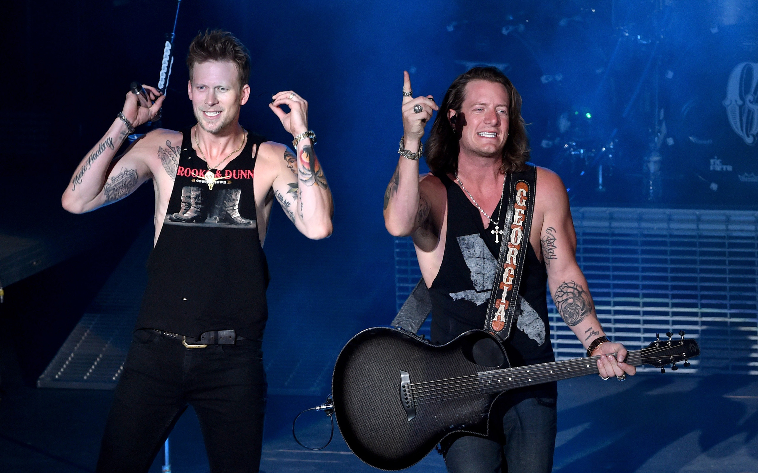 Florida Georgia Line Singers, American Country Music Duo, Tyler Hubbard,  Brian Kelley,