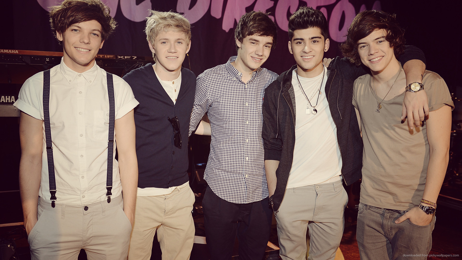 One Direction Black iPhone Wallpaper iPod Wallpaper HD Free