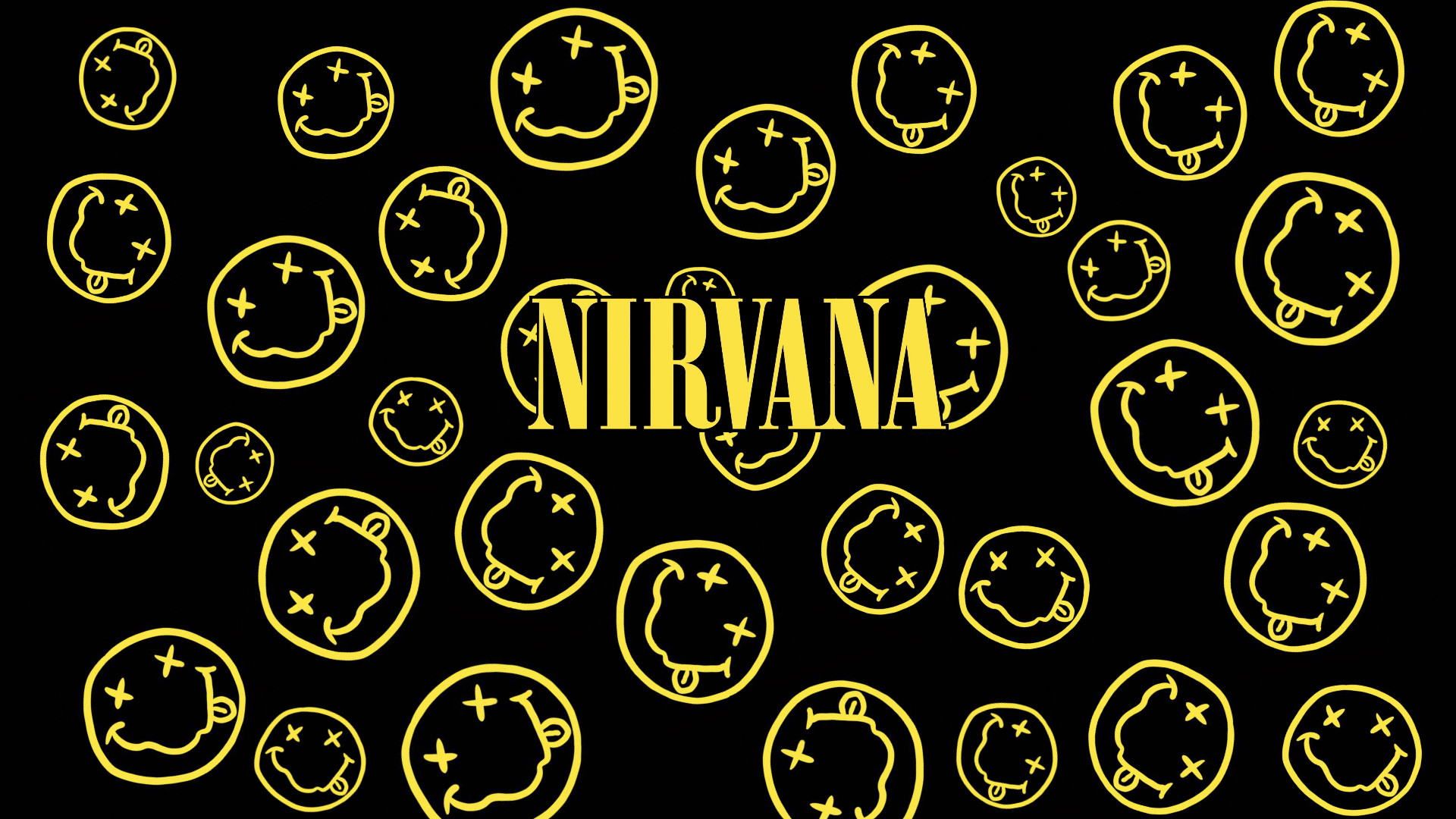 Nirvana Smiley Face 1920×1080, Top on NM.CP