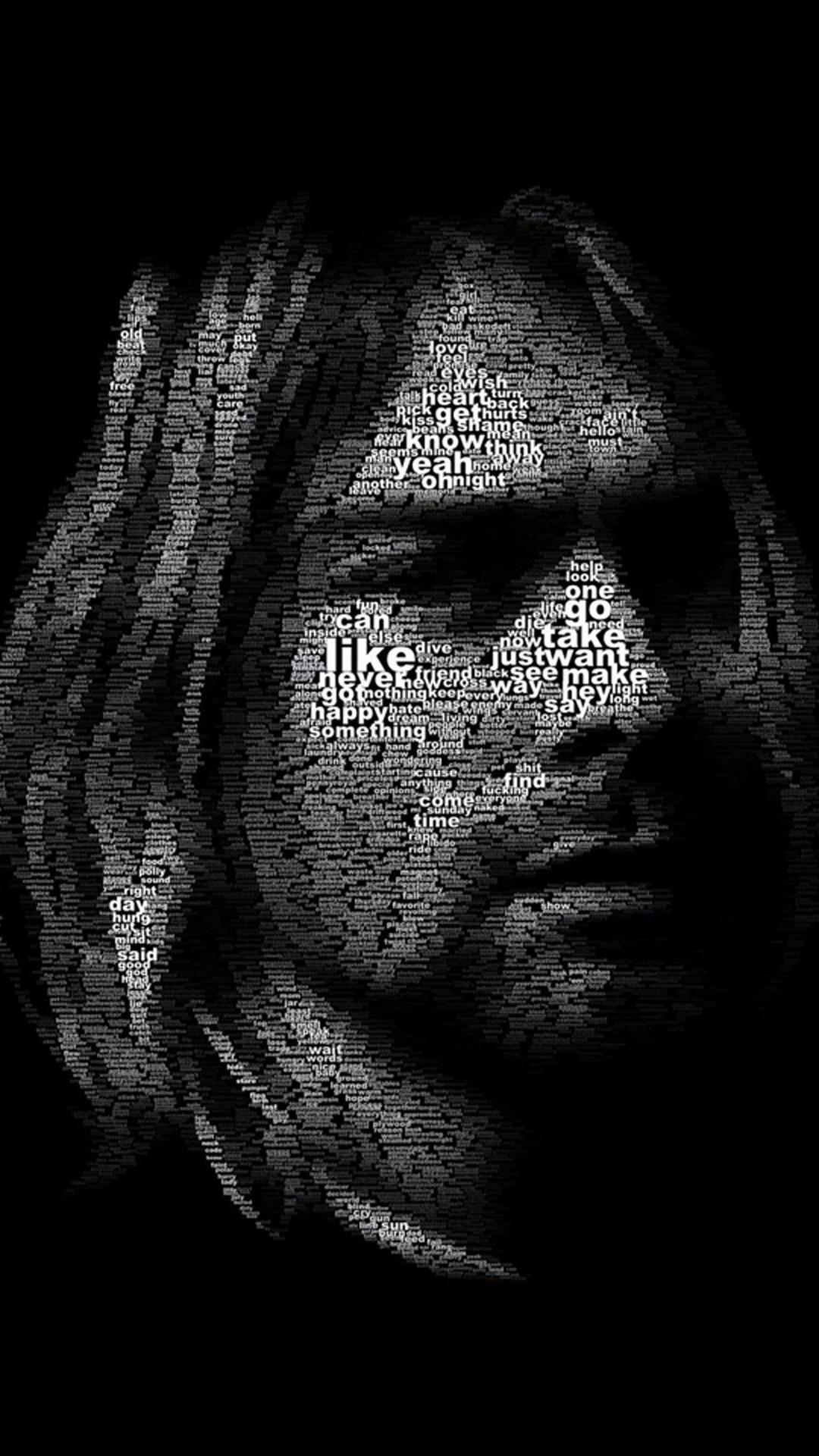 nirvana_kurt_cobain Galaxy S5 Wallpaper