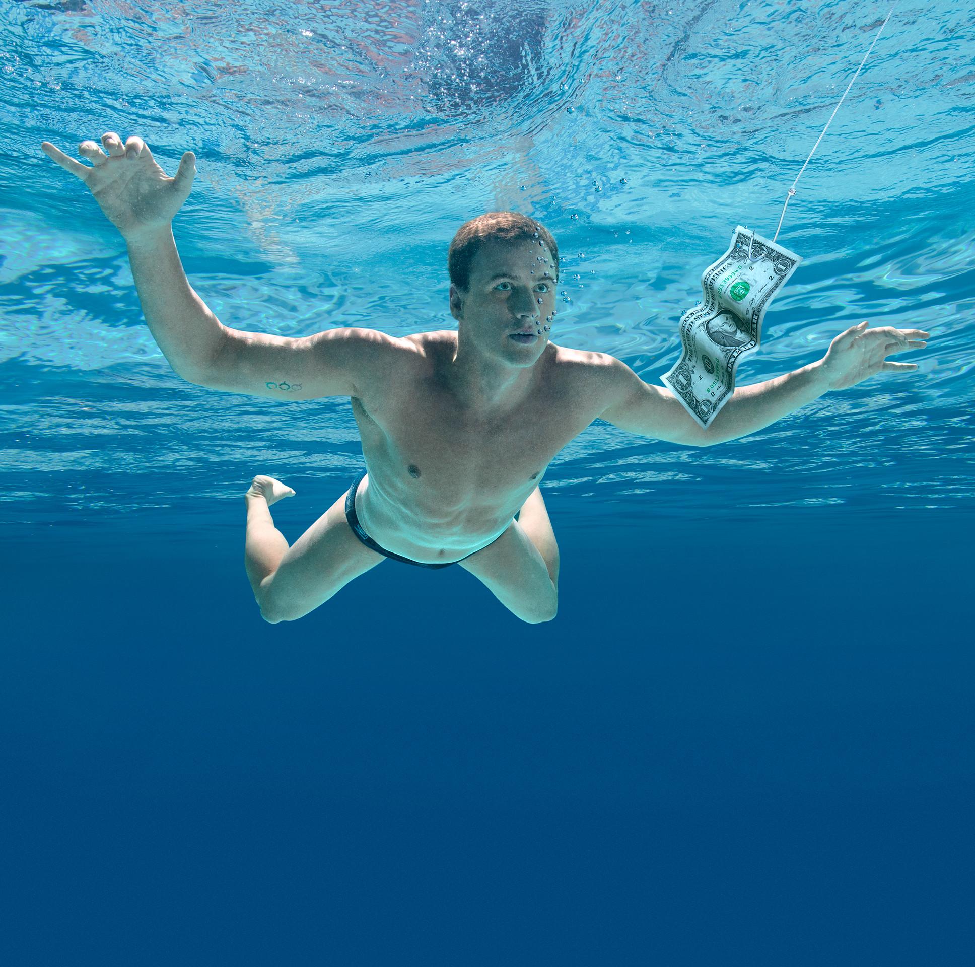 Ryan Lochte re-creates Nirvana's Nevermind – ESPN The Magazine Music Issue  – ESPN