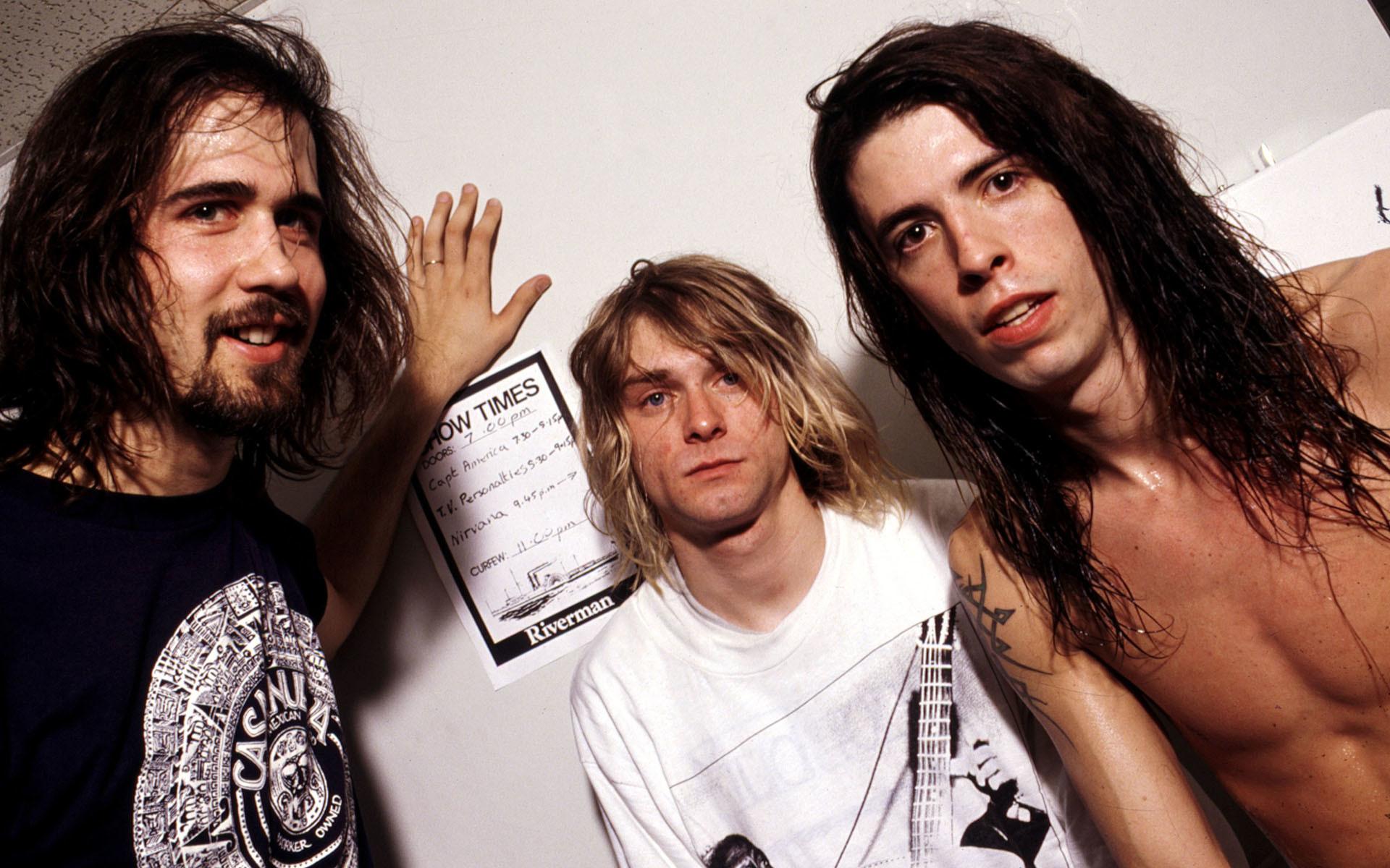 Dave Grohl Nirvana Kurt Cobain | Kurt Cobain Nirvana Dave Grohl wallpaper  background