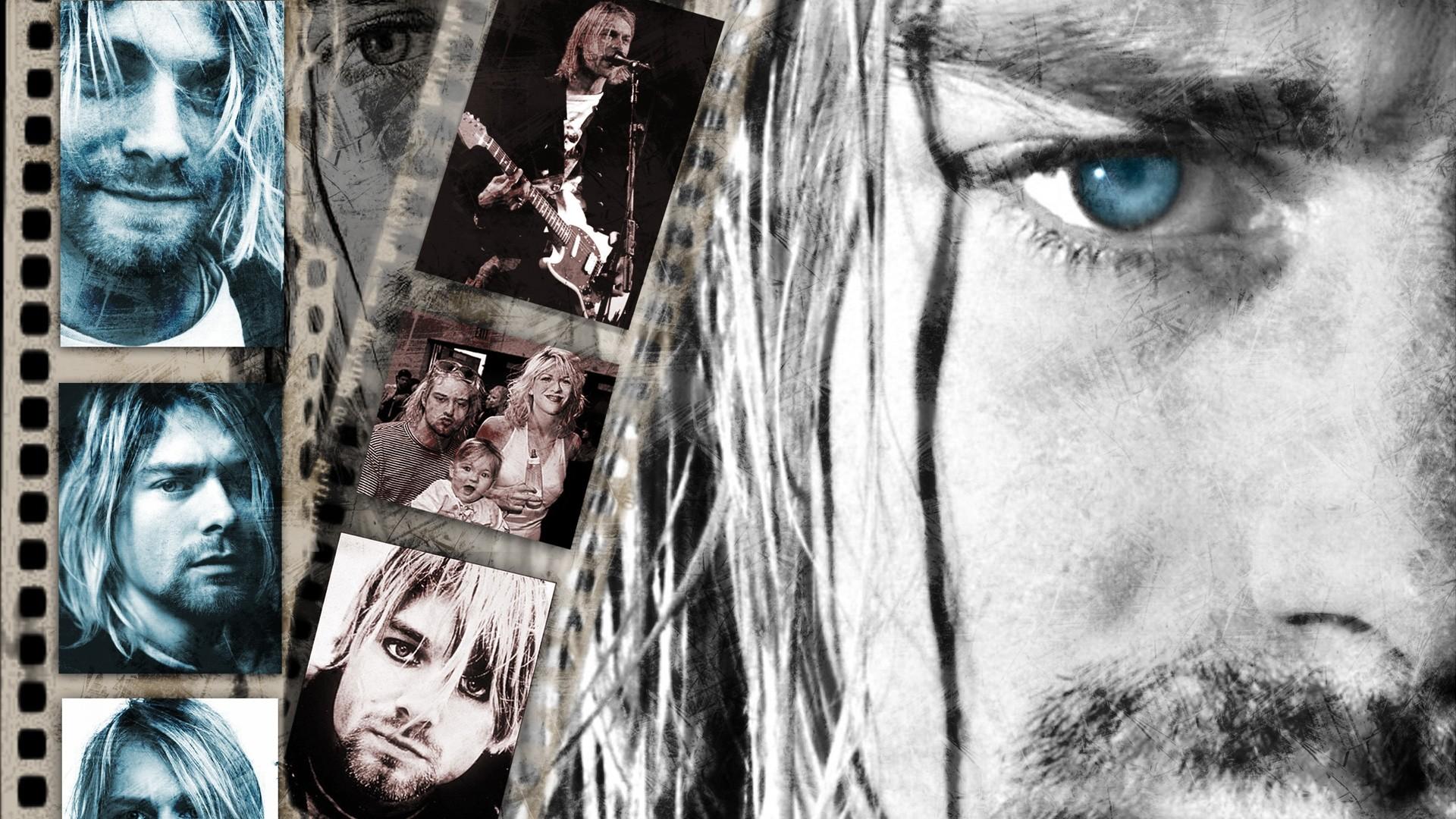 Download Wallpaper Nirvana, Soloist, Face, Bristle, Eye .