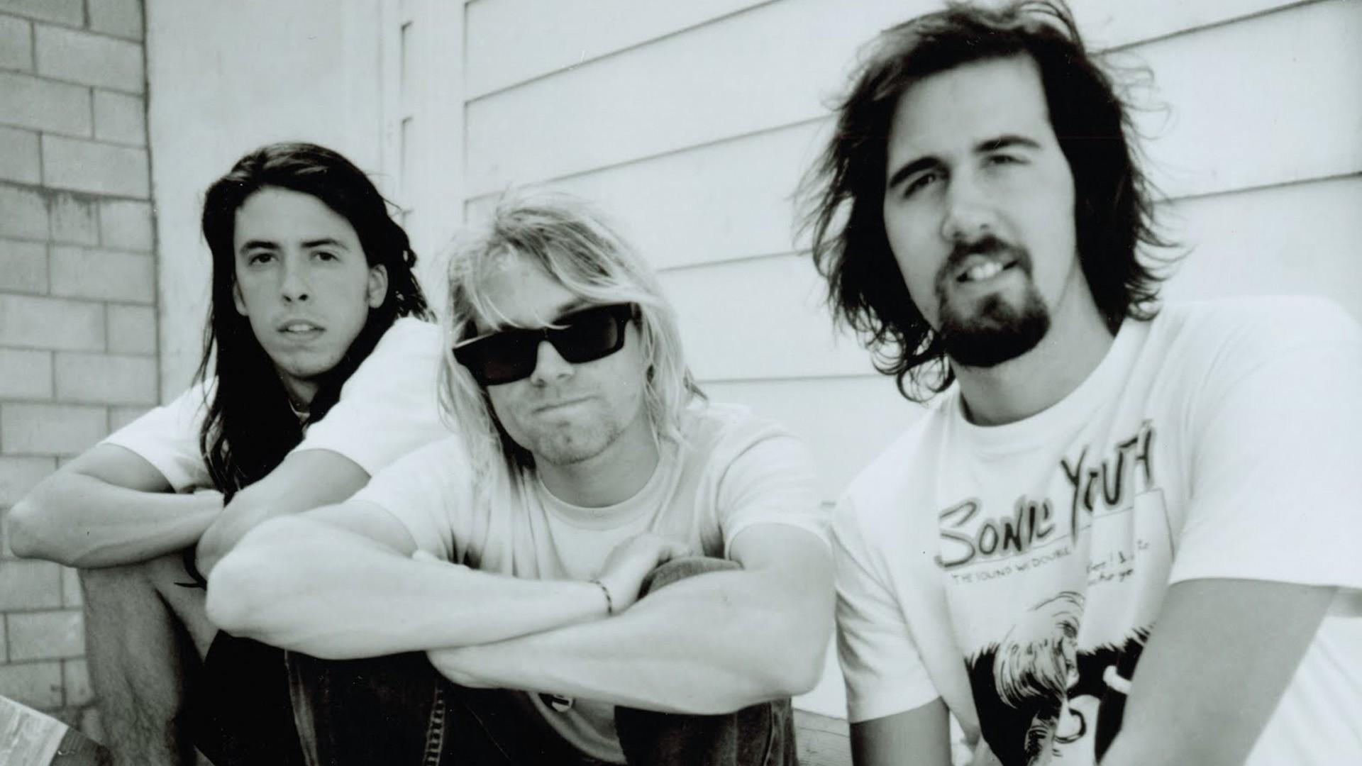 Nirvana Sonic Youth Shirt Wallpaper