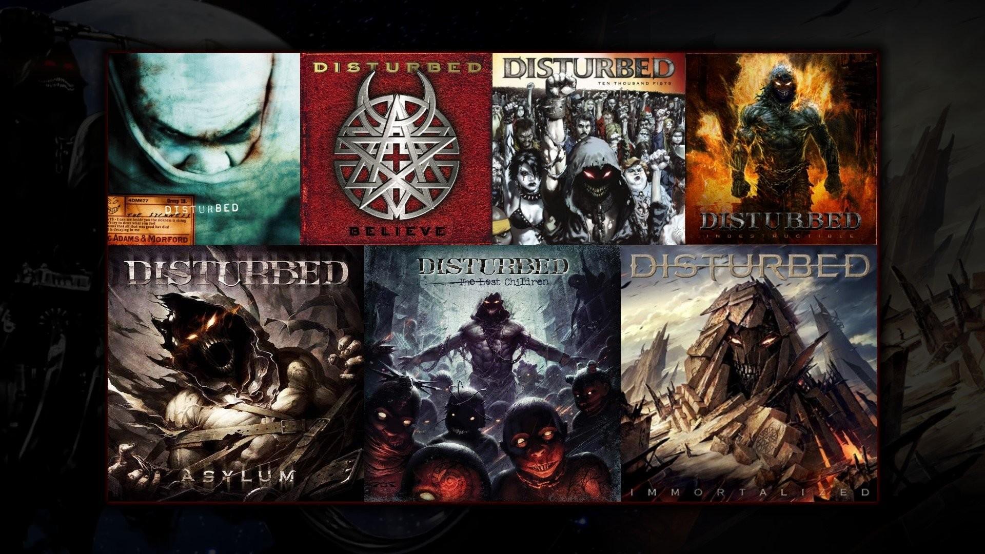 Music – Disturbed Disturbed (Band) Heavy Metal Wallpaper