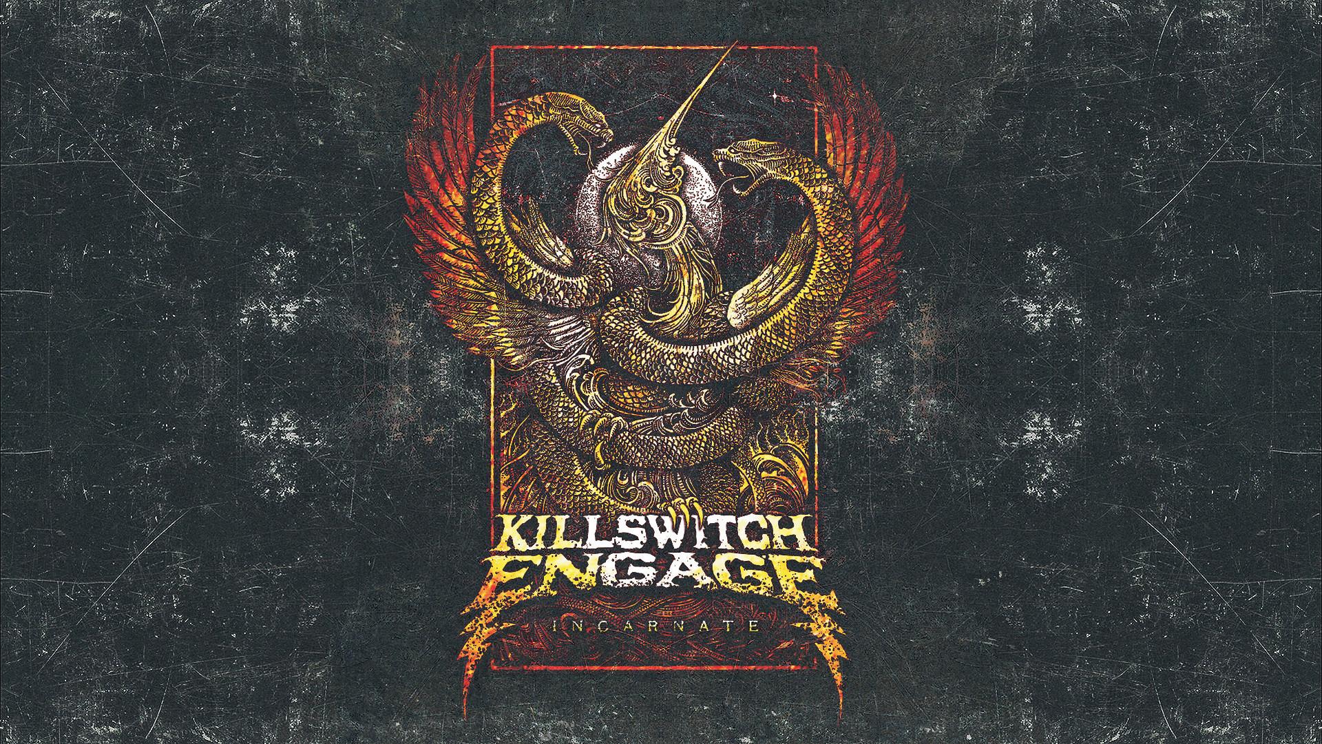 … KILLSWITCH ENGAGE: Incarnate [WALLPAPER] by disturbedkorea