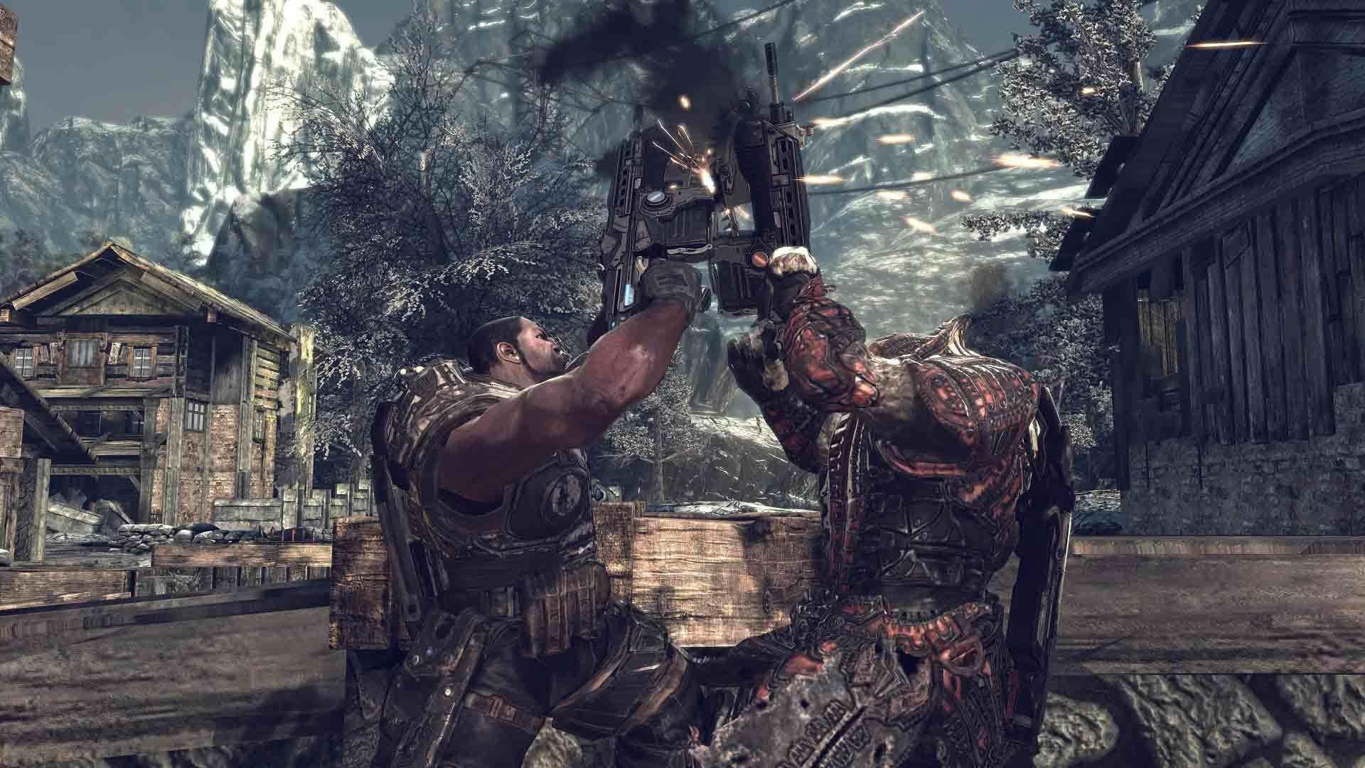 'Gears of War 4' Trailer Gave Disturbed Frontman Chills | Inverse
