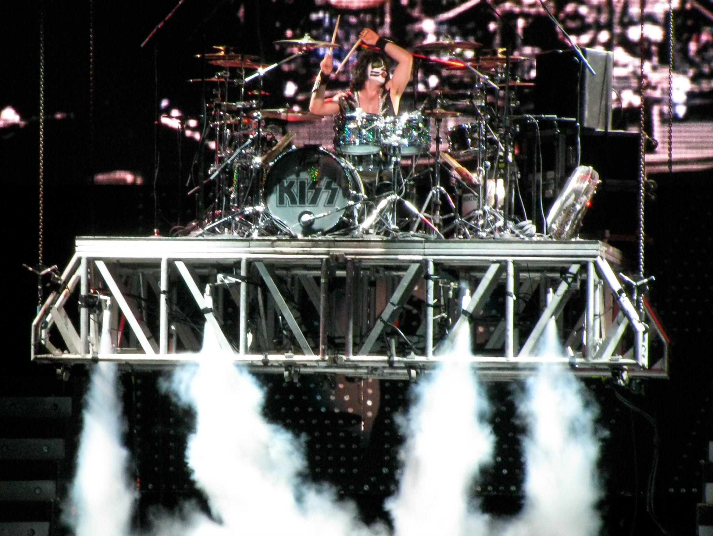 Kiss heavy metal rock bands drums concert wallpaper | | 74065 |  WallpaperUP