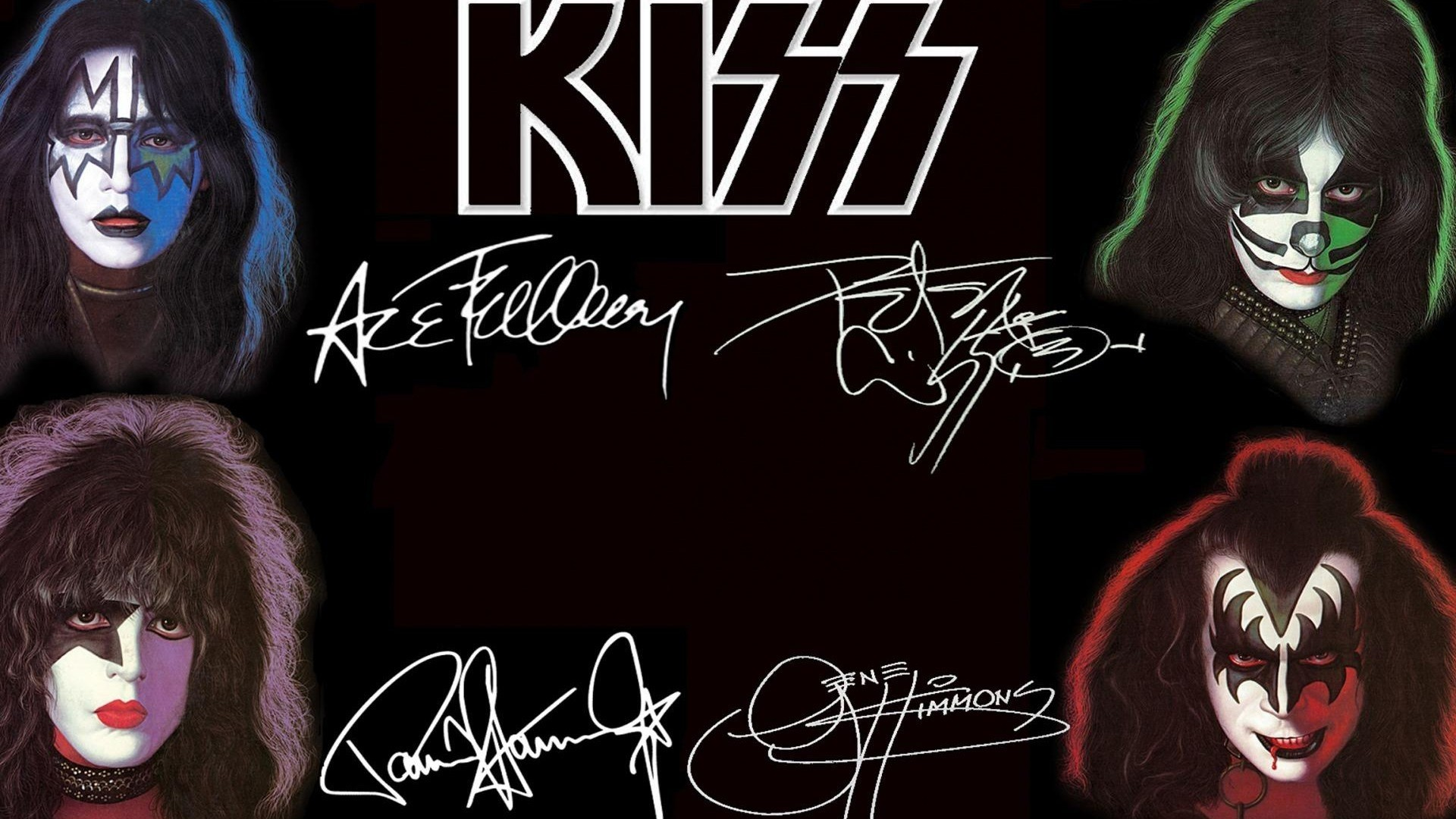 the original kiss ace frehley wallpaper download