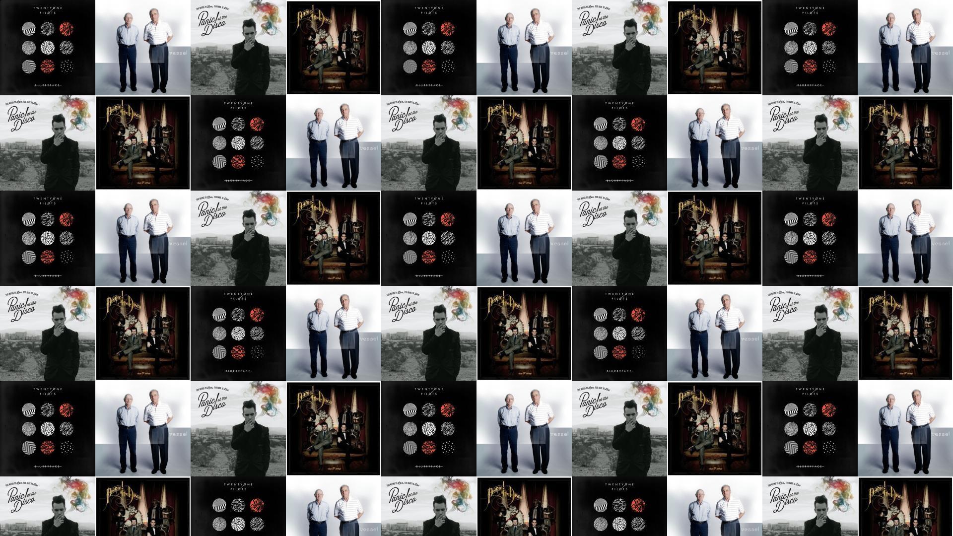 Twenty One Pilots Blurryface Vessel Panic At Disco Wallpaper Â« Tiled  Desktop Wallpaper
