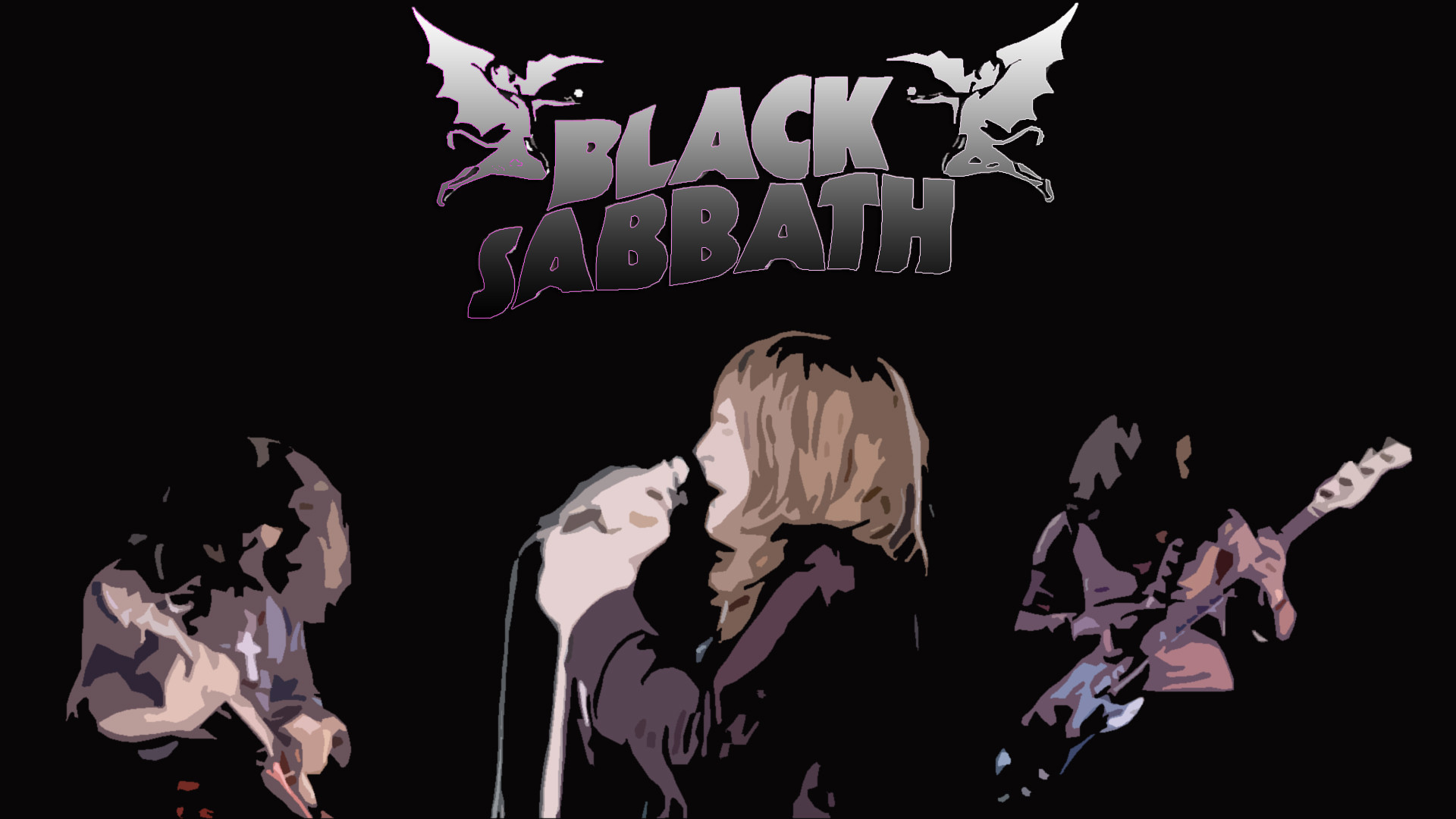 Music – Black Sabbath Heavy Metal Ozzy Osbourne Wallpaper