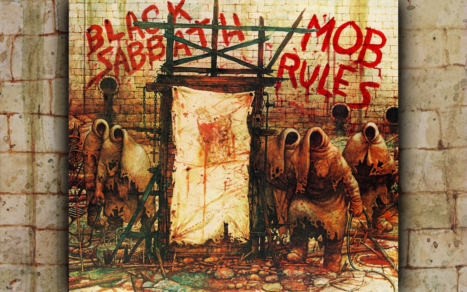 Music – Black Sabbath Heavy Metal Hard Rock Album Cover Wallpaper