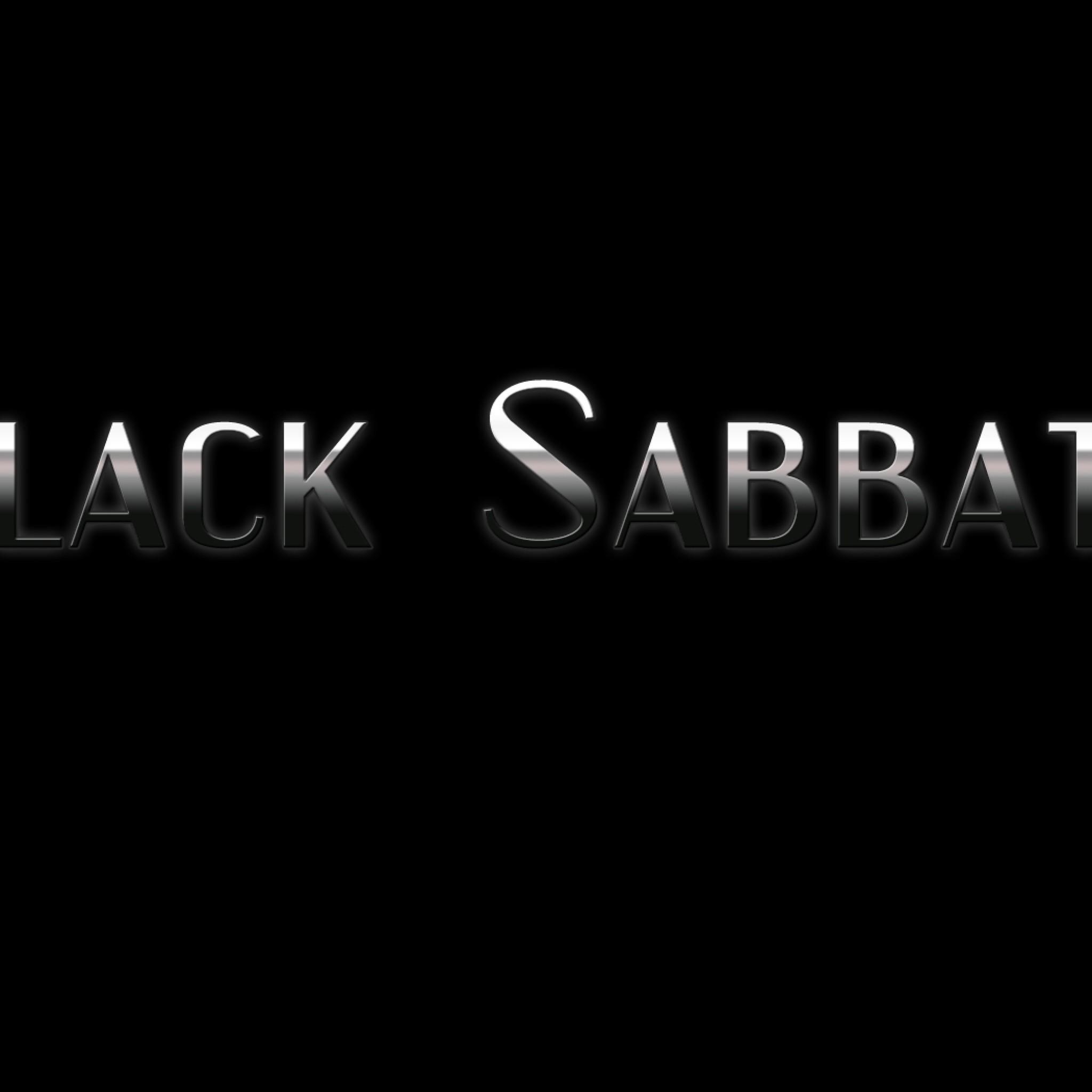 Wallpaper black sabbath, font, background, name, light