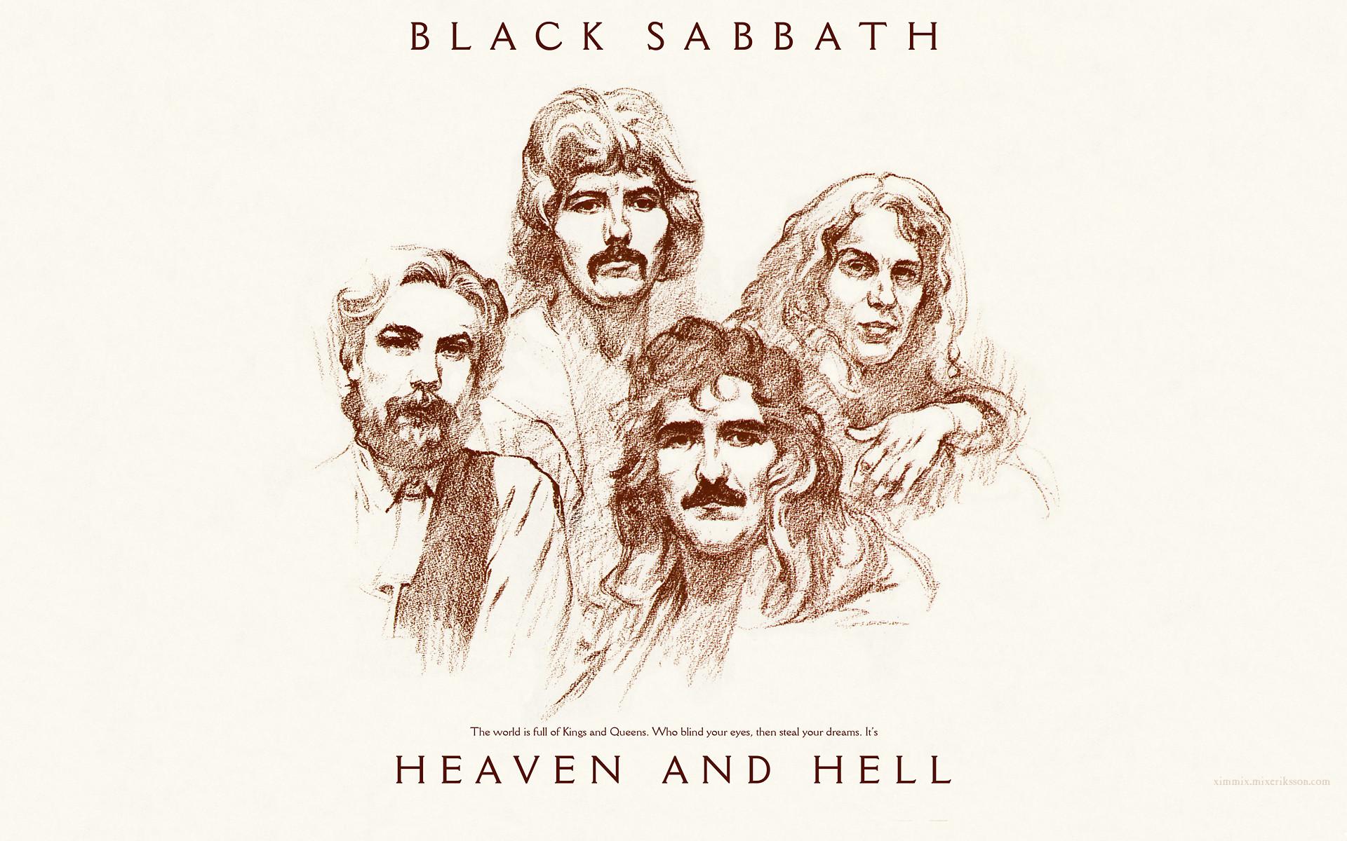 Music – Black Sabbath Heavy Metal Metal Hard Rock Classic Album Cover  Wallpaper
