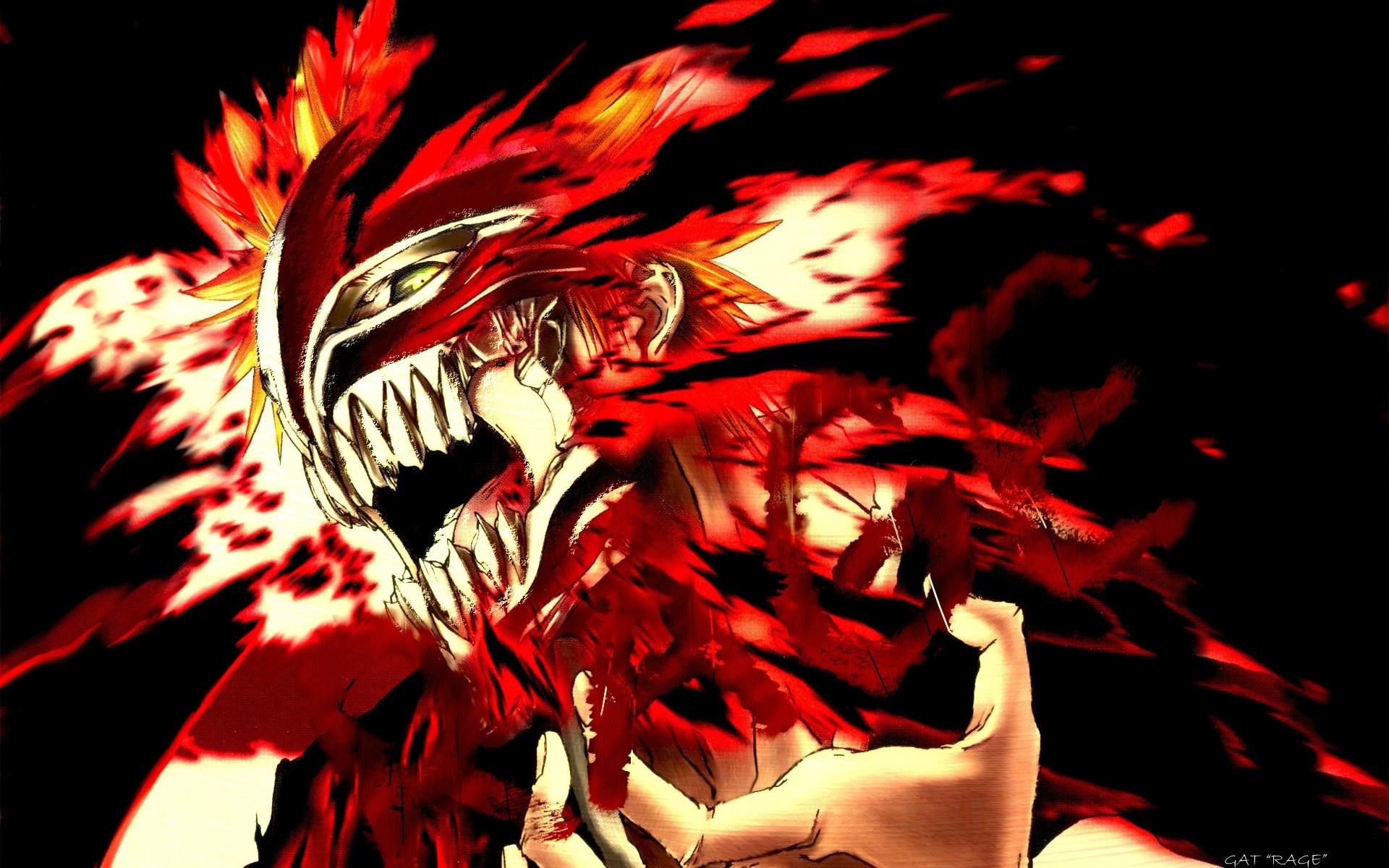 Anime Bleach Ichigo Hollow Mask Read High Quality Bleach Manga on  MangaGrounds | Bleach Forums and