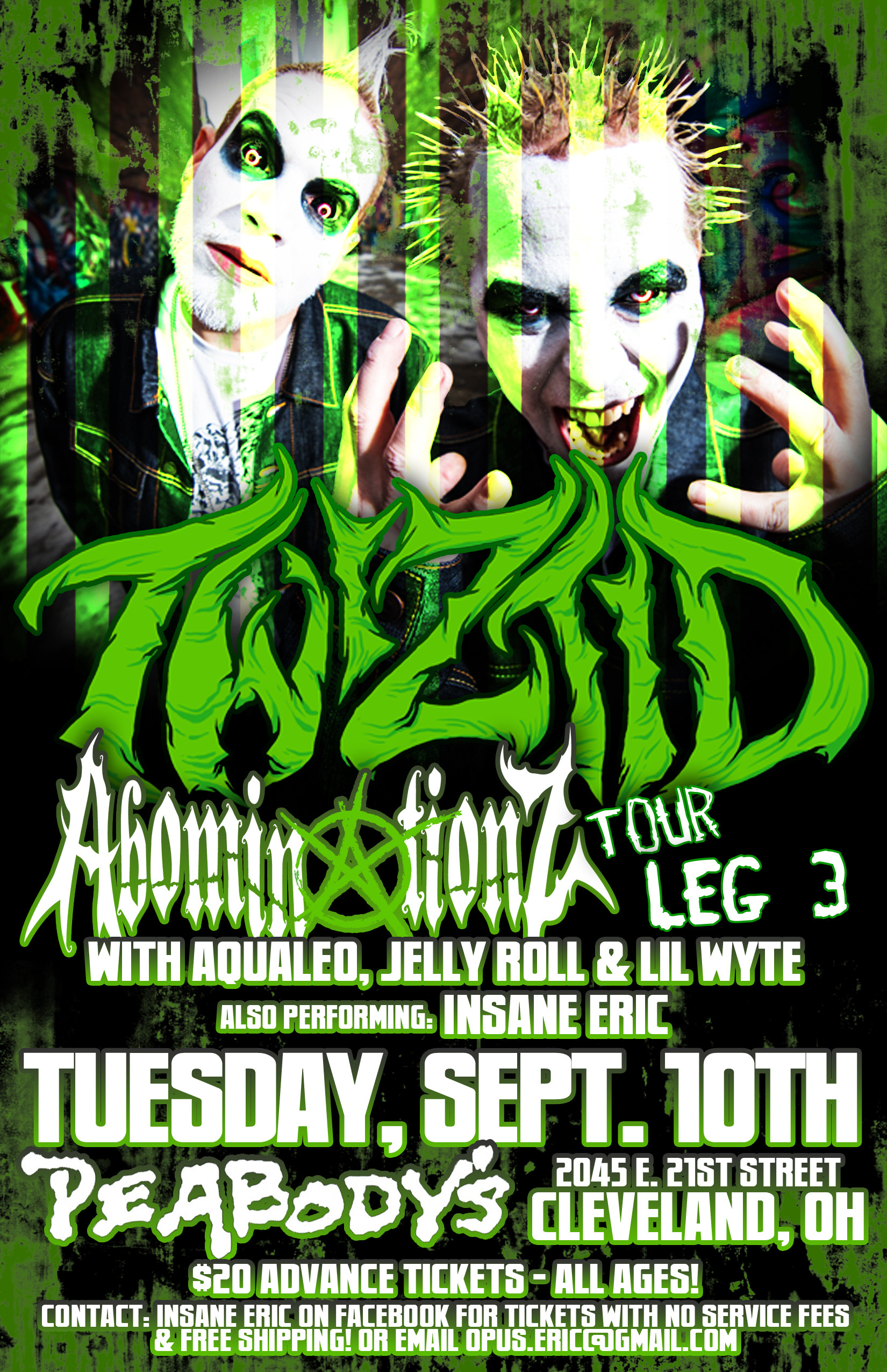 Tickets are selling fast for upcoming Cleveland Twiztid show!