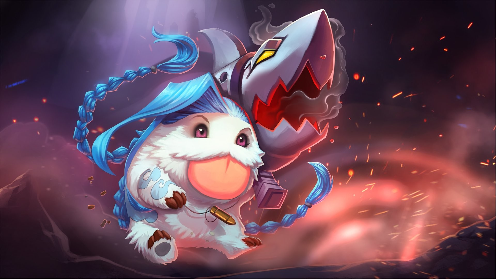 Jinx Poro – Wallpapers HD League Of Legends Wallpapers