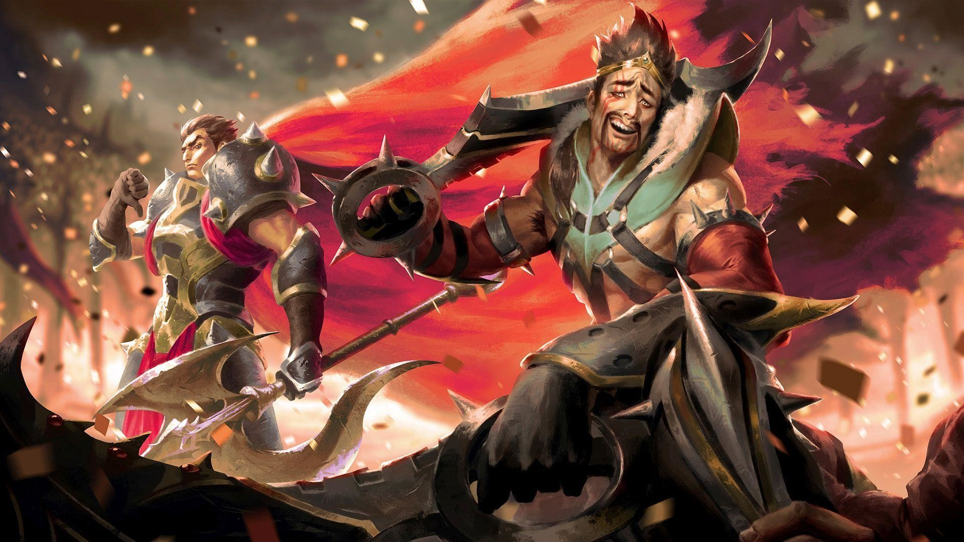 Darius-and-draven-league-of-legends.jpg (1920×1080) | League of Legends |  Pinterest