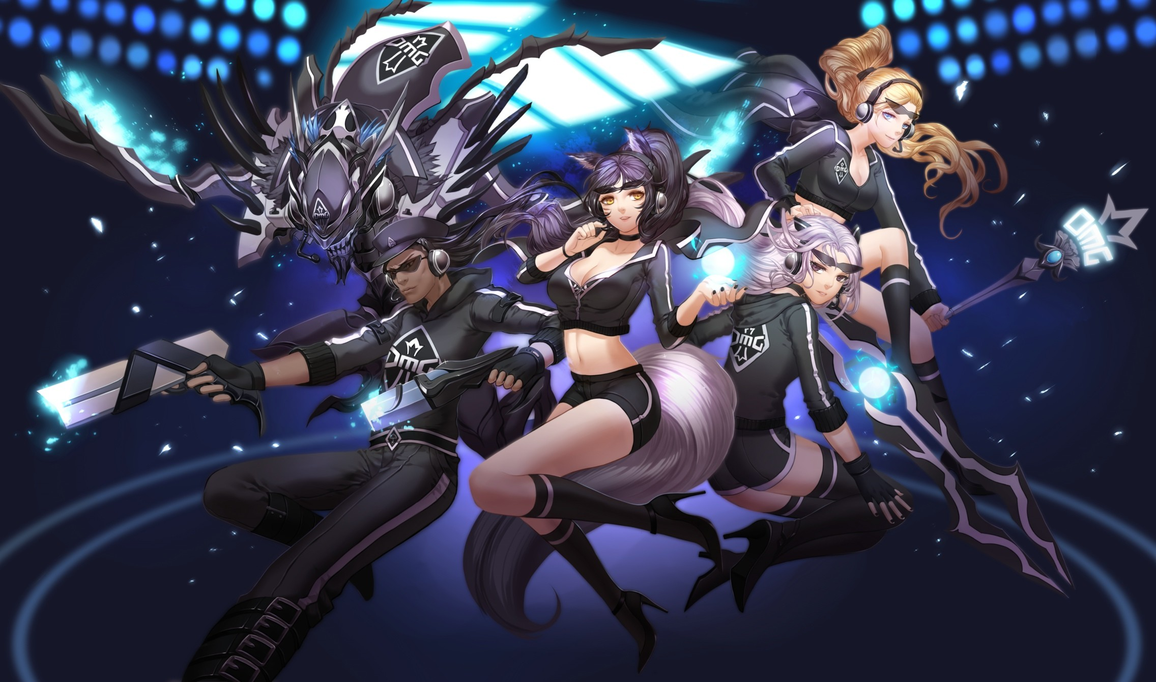 OMG Skins League Of Legends Wallpapers HD