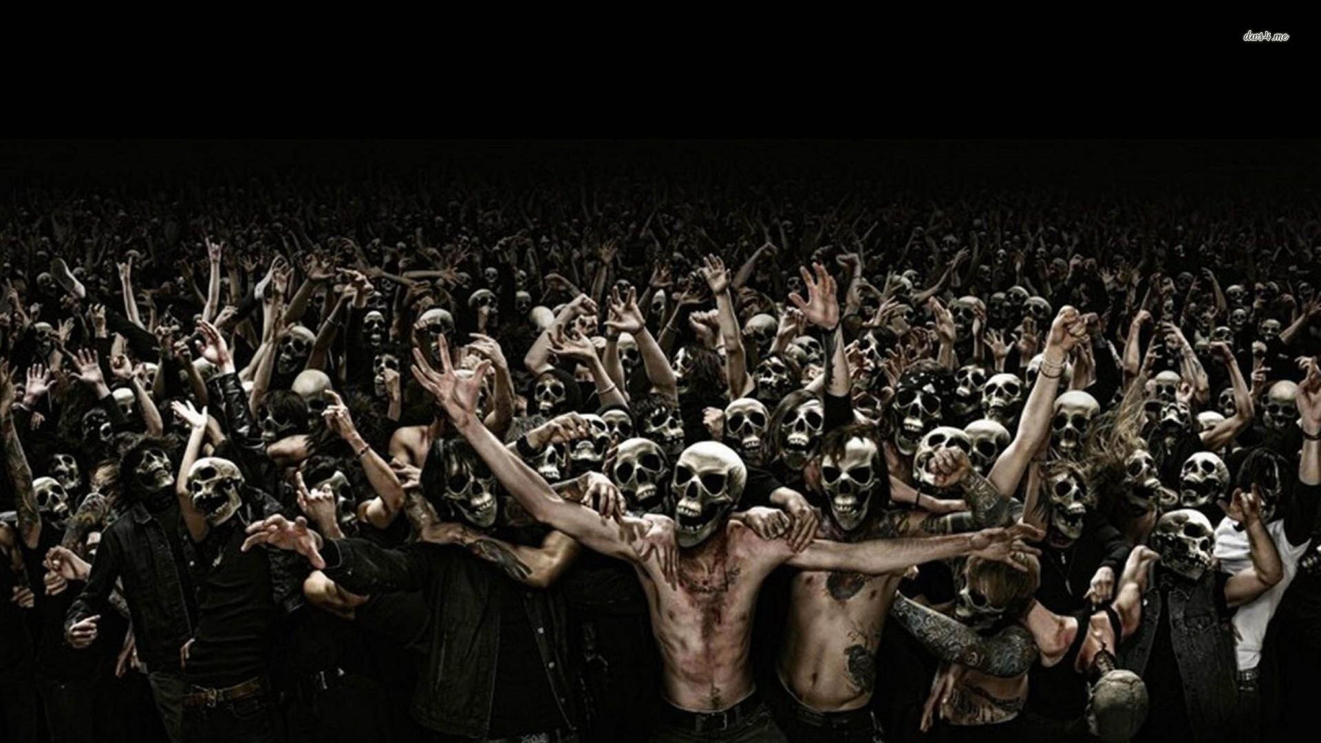 Zombie attack wallpaper – Digital Art wallpapers – #12309