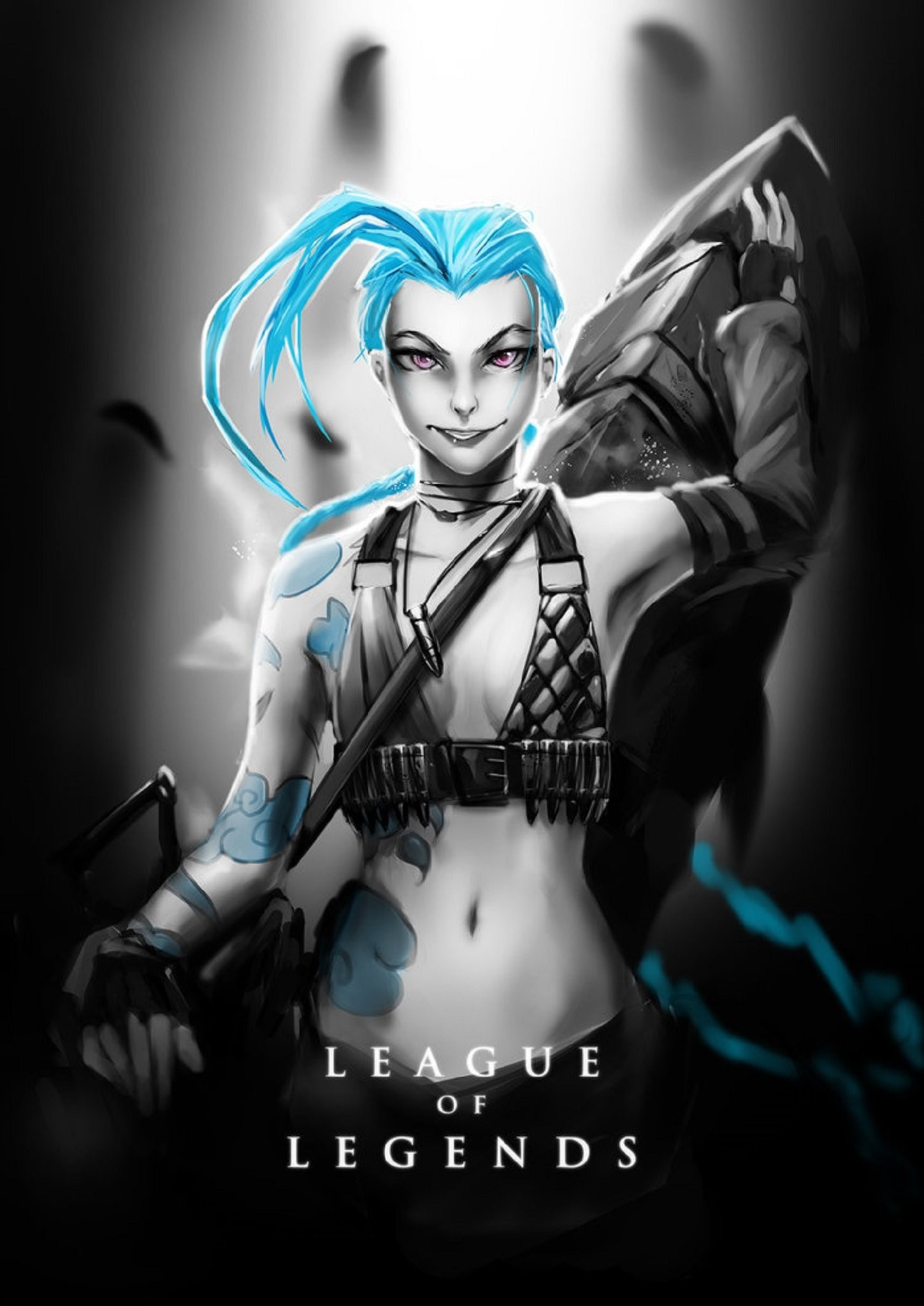 136 Jinx (League Of Legends) HD Wallpapers