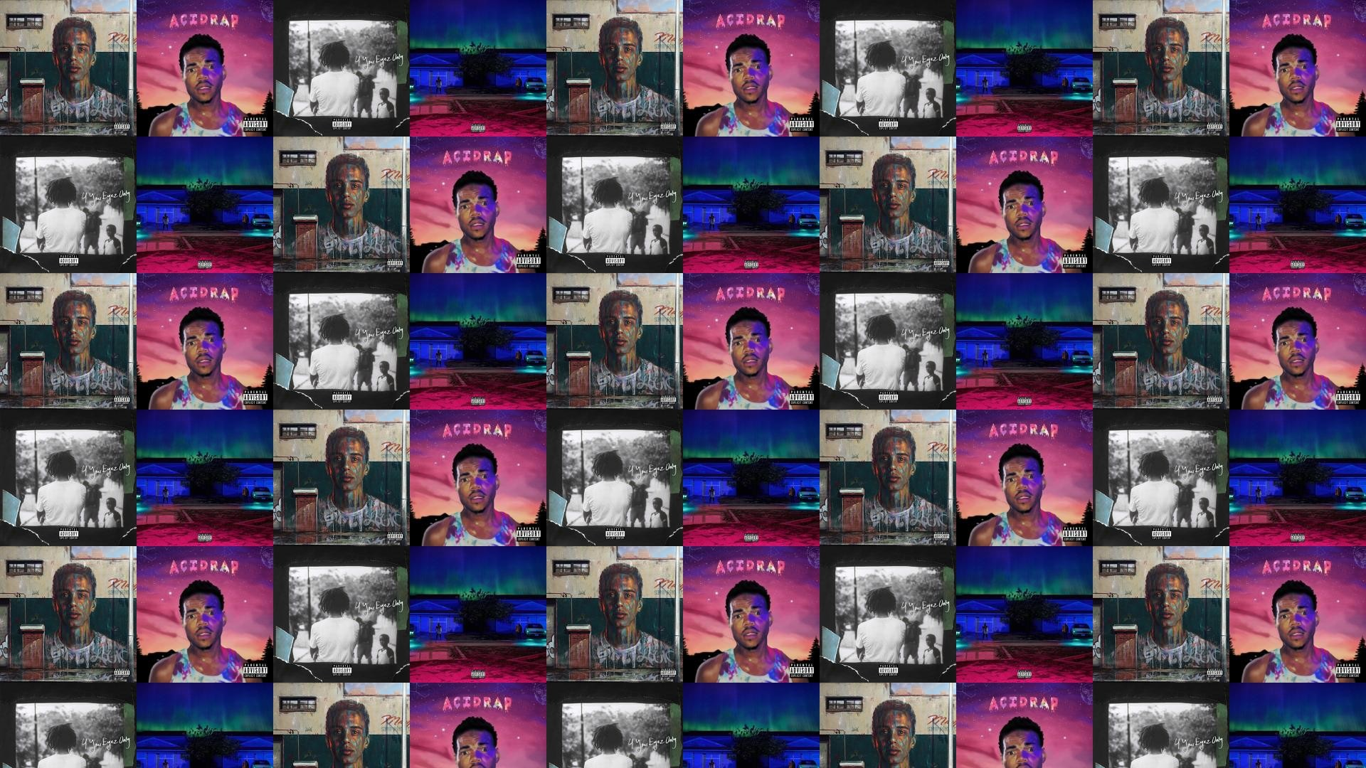 Logic Under Pressure Chance Rapper Acid Rap Wallpaper Â« Tiled Desktop  Wallpaper