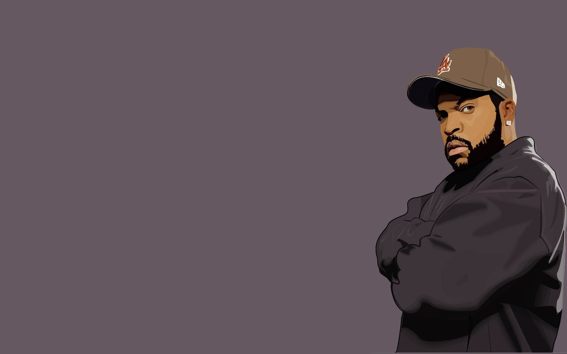 Ice Cube Rap Wallpaper.