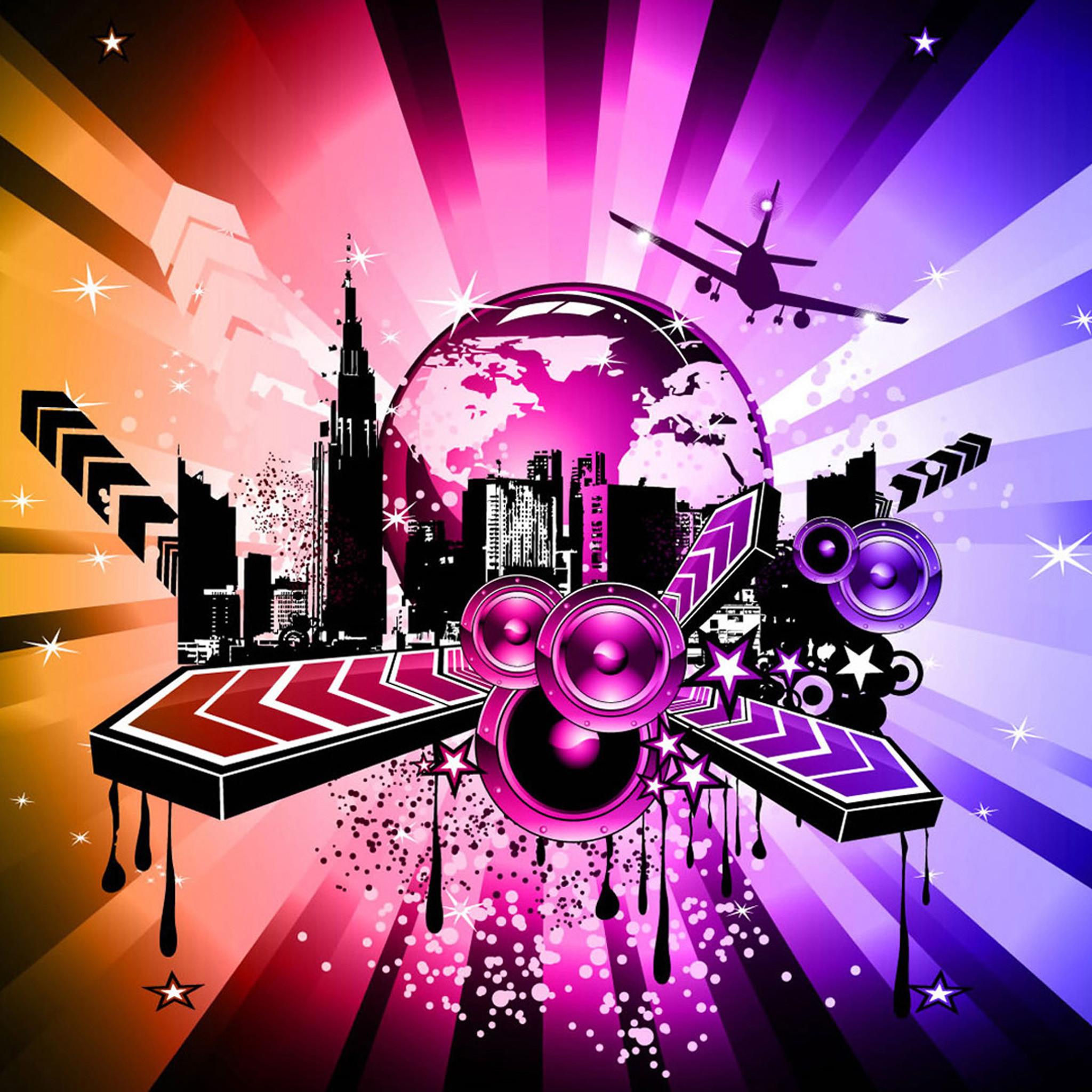 Abstract music iPad Air 2 Wallpapers