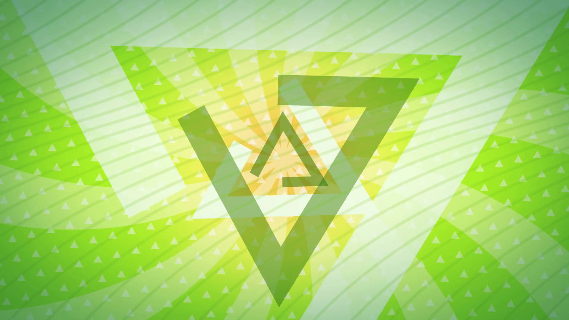 Subscription Library green triangles Abstract Background Animation loop for  your logo or text. Technology Background. Futuristic