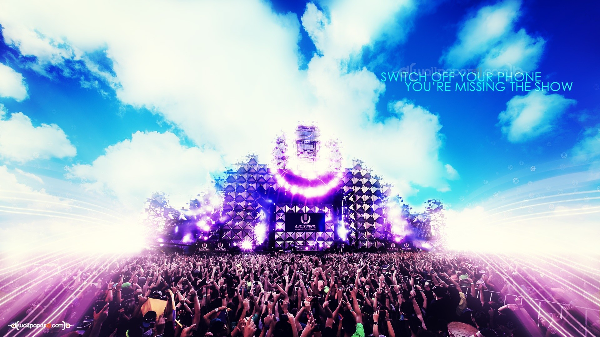 Party Mood ON HD and Wide Wallpapers. Party Mood ON HD Wallpaper, Ultra  Music Festival …