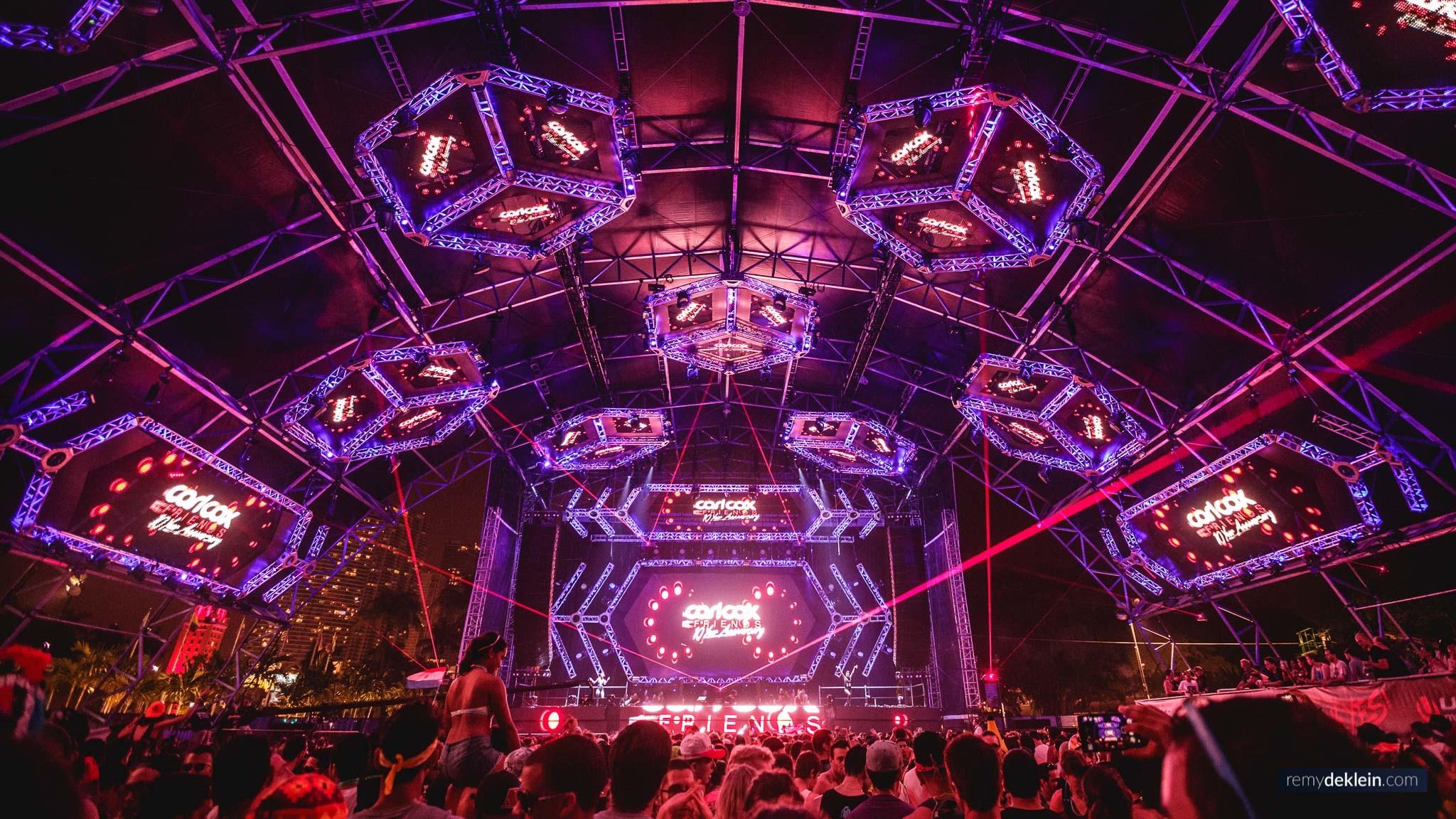 Ultra Music Festival Miami 2014 structure – Carl Cox