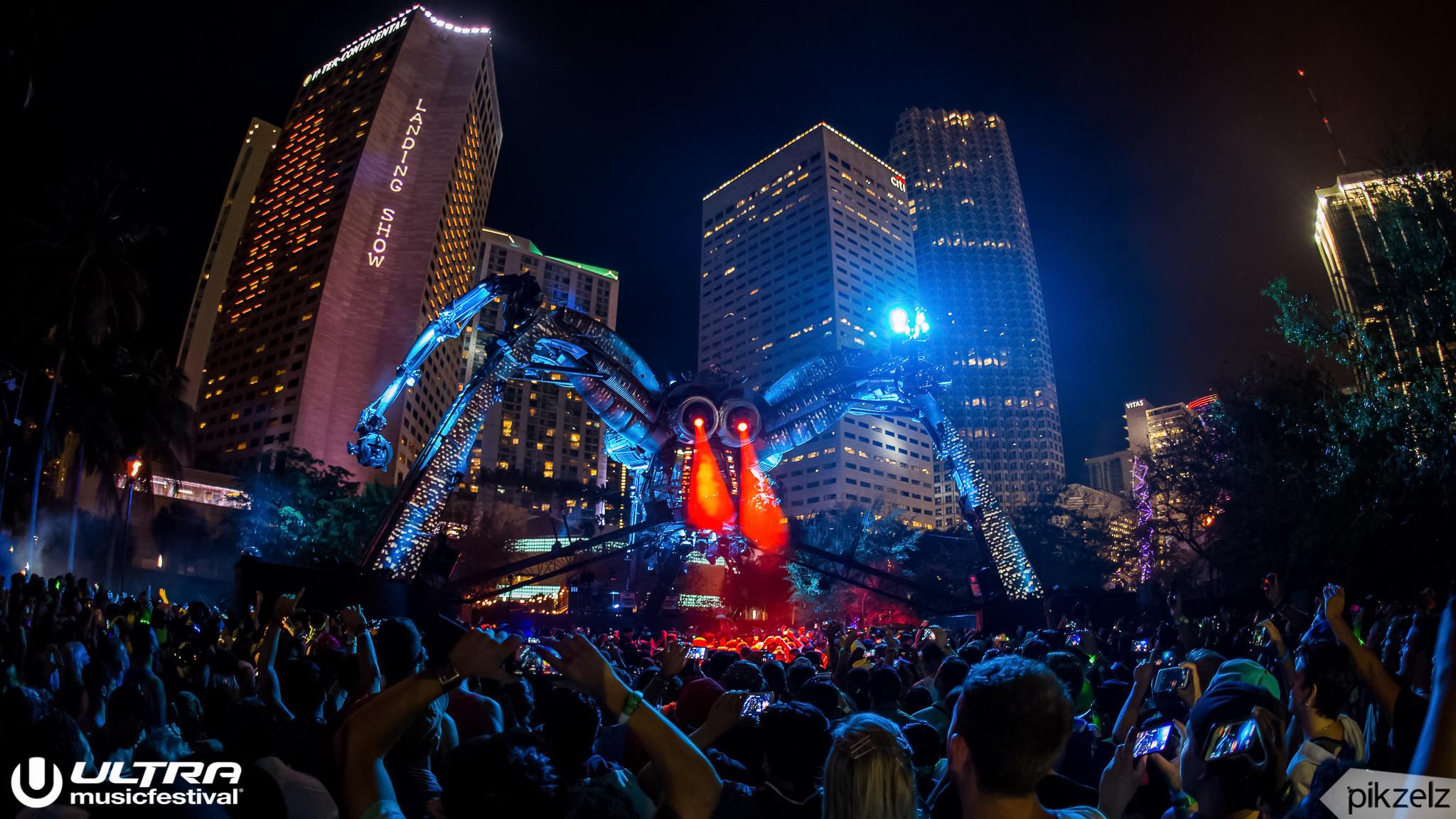Pikzelz for Ultra Music Festival 1